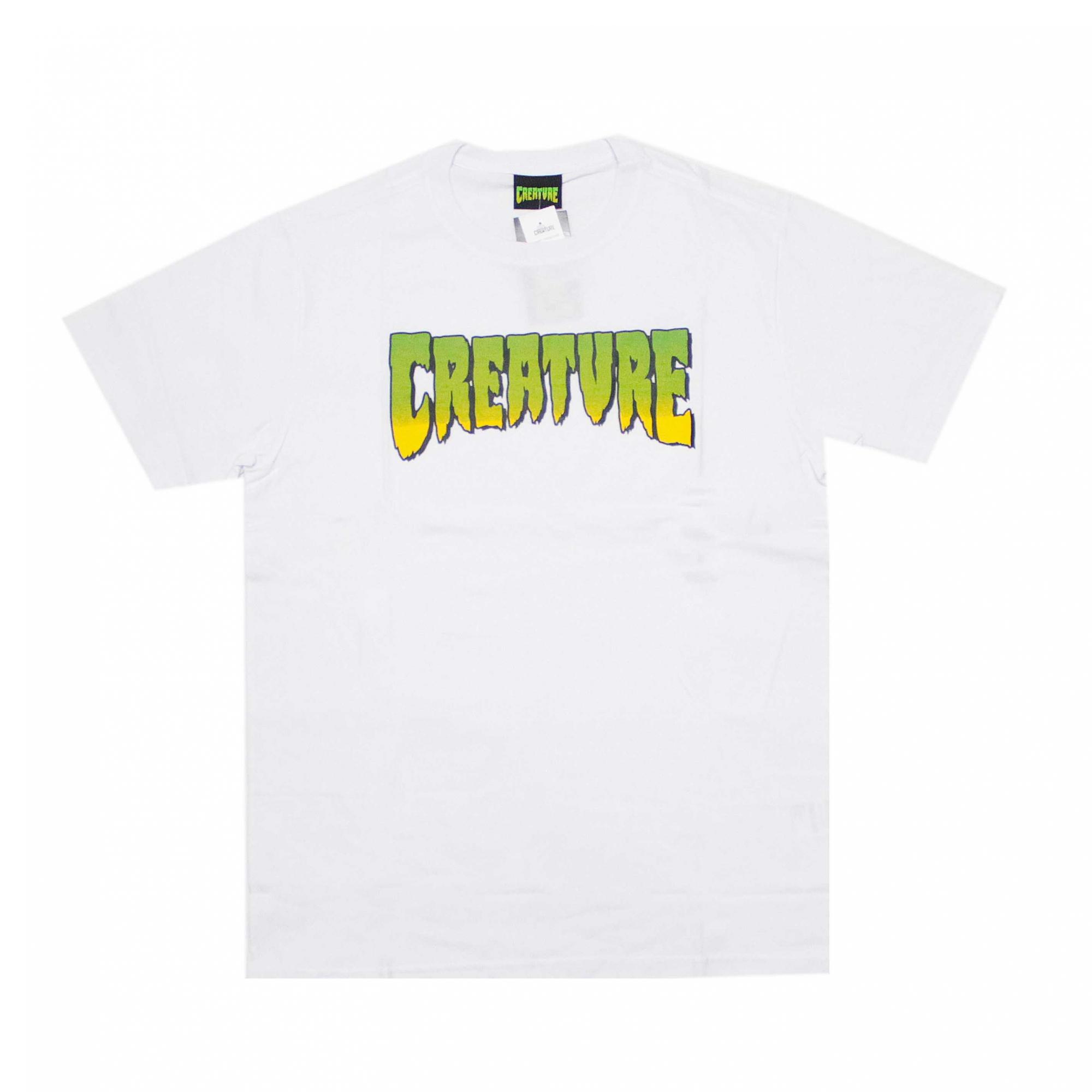 Camiseta Creature Classic Logo - Branco