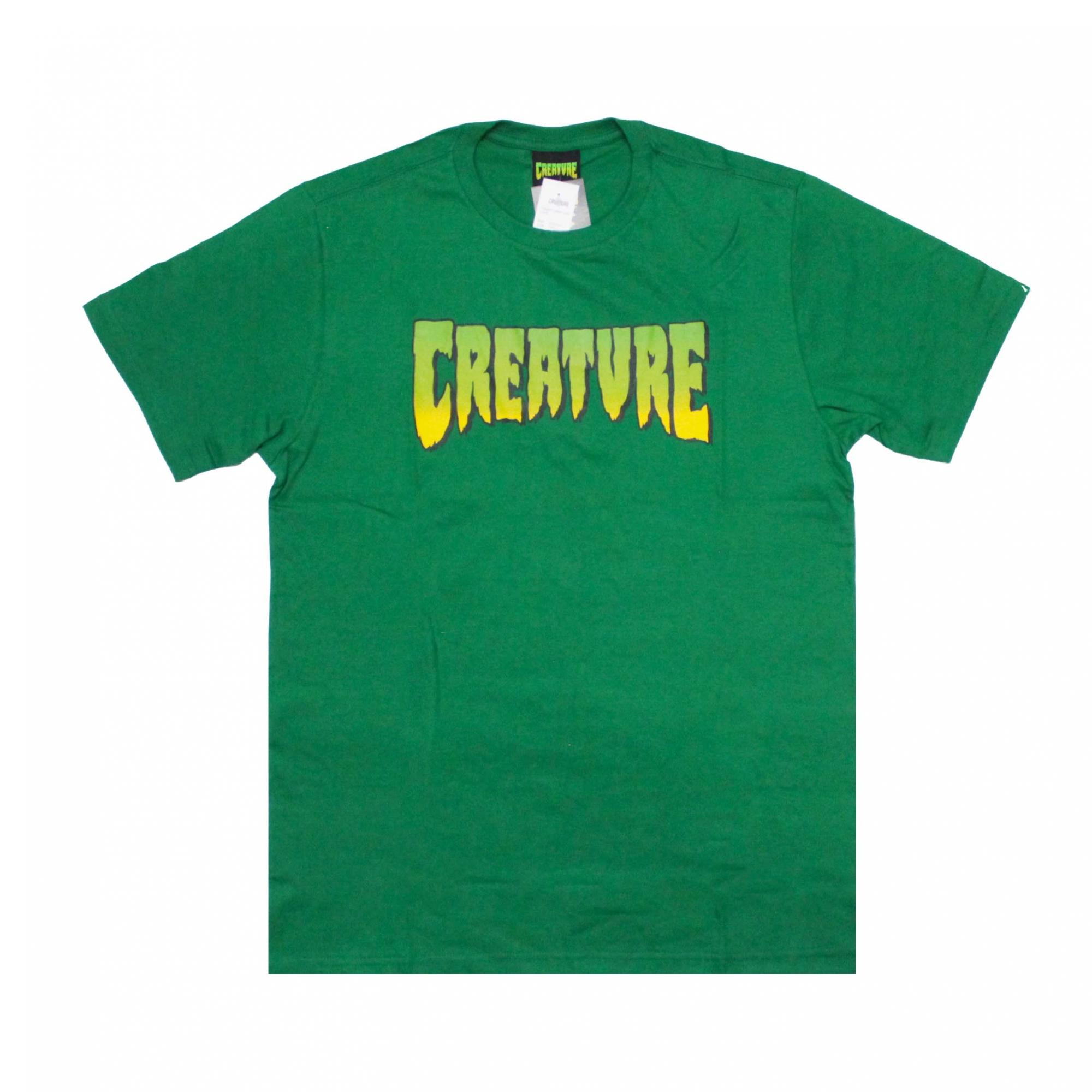 Camiseta Creature Classic Logo - Verde