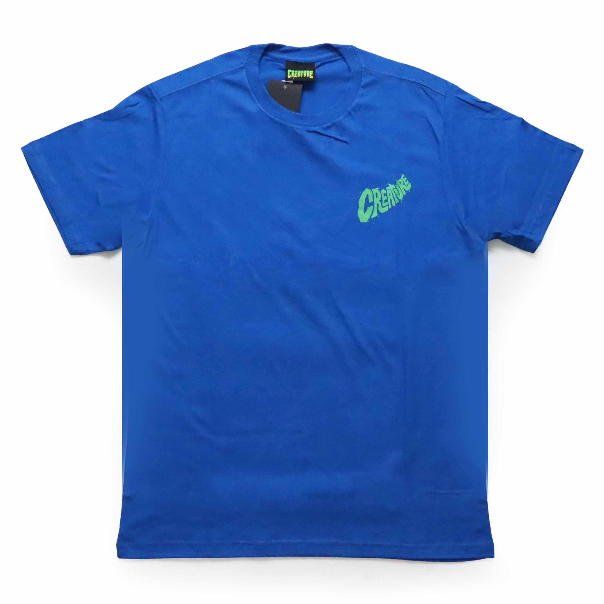 Camiseta Creature Crypt Keeper - Azul Royal