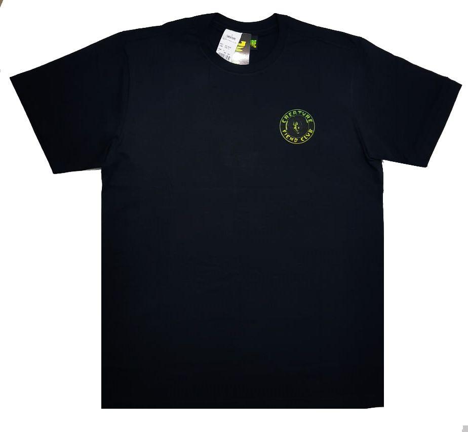 Camiseta Creature Fiend Club Black