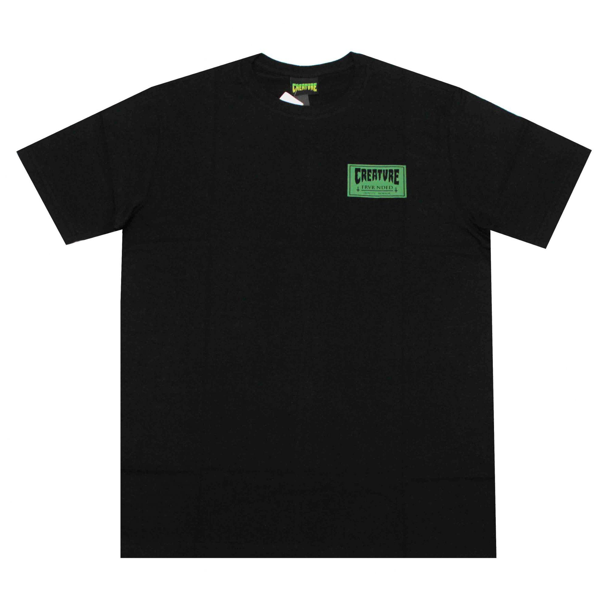 Camiseta Creature FRV Black