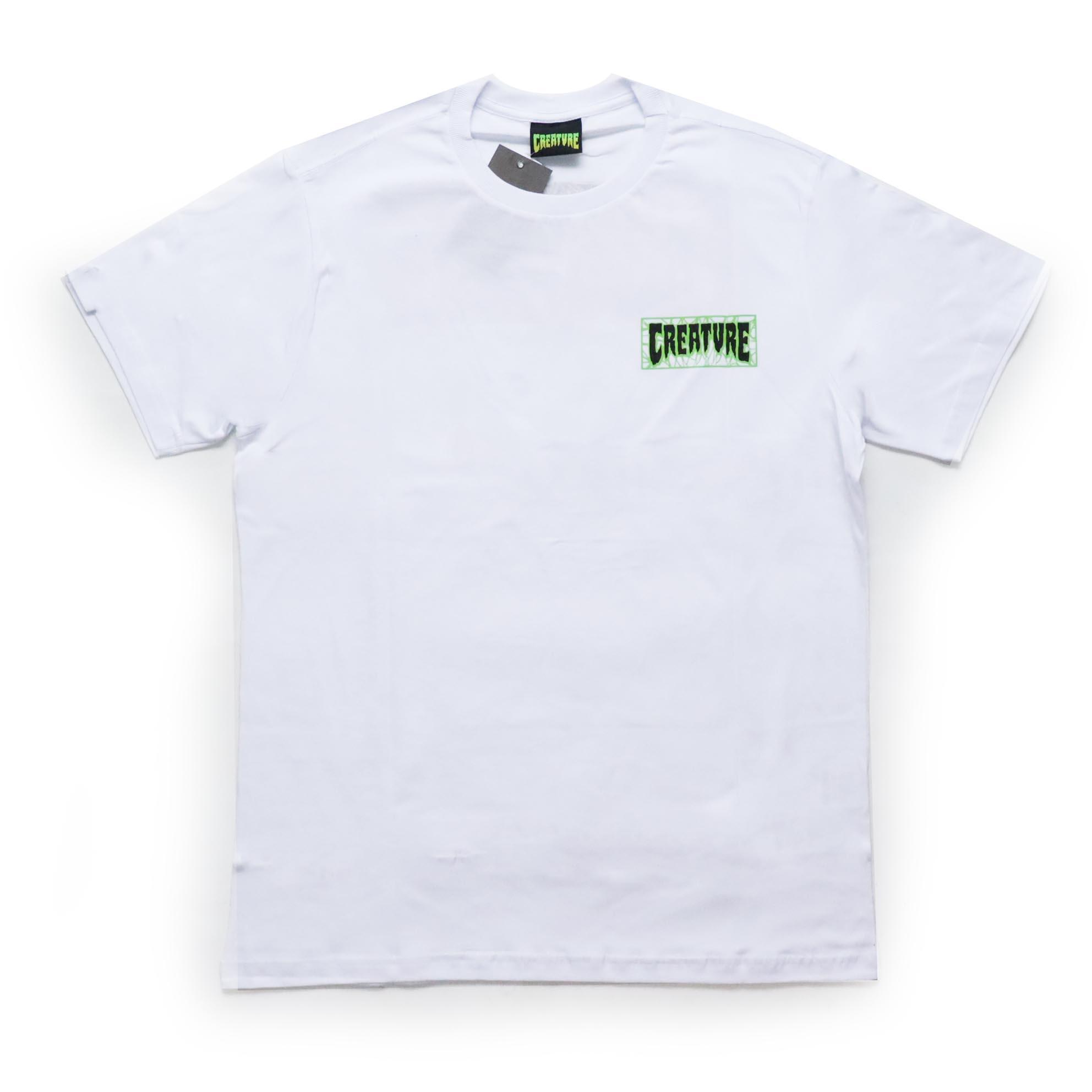 Camiseta Creature Ligaments - Branco