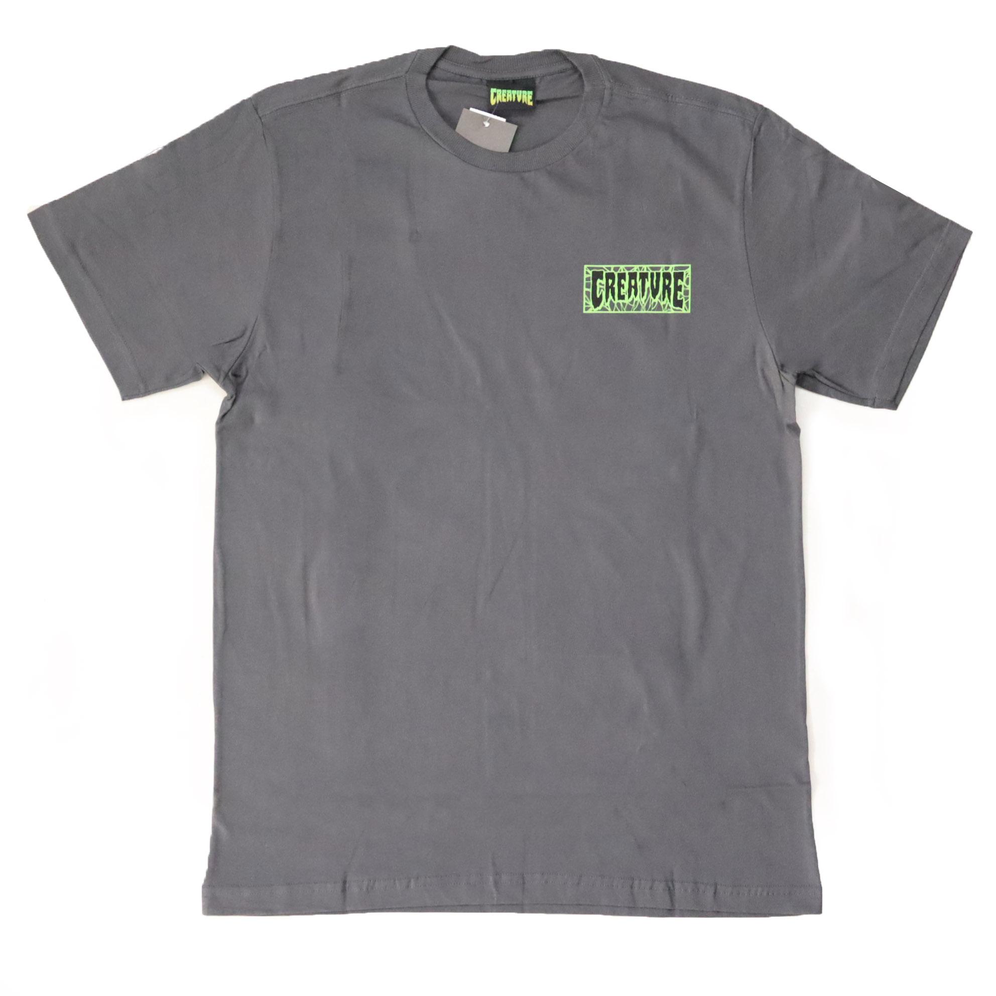 Camiseta Creature Ligaments - Chumbo