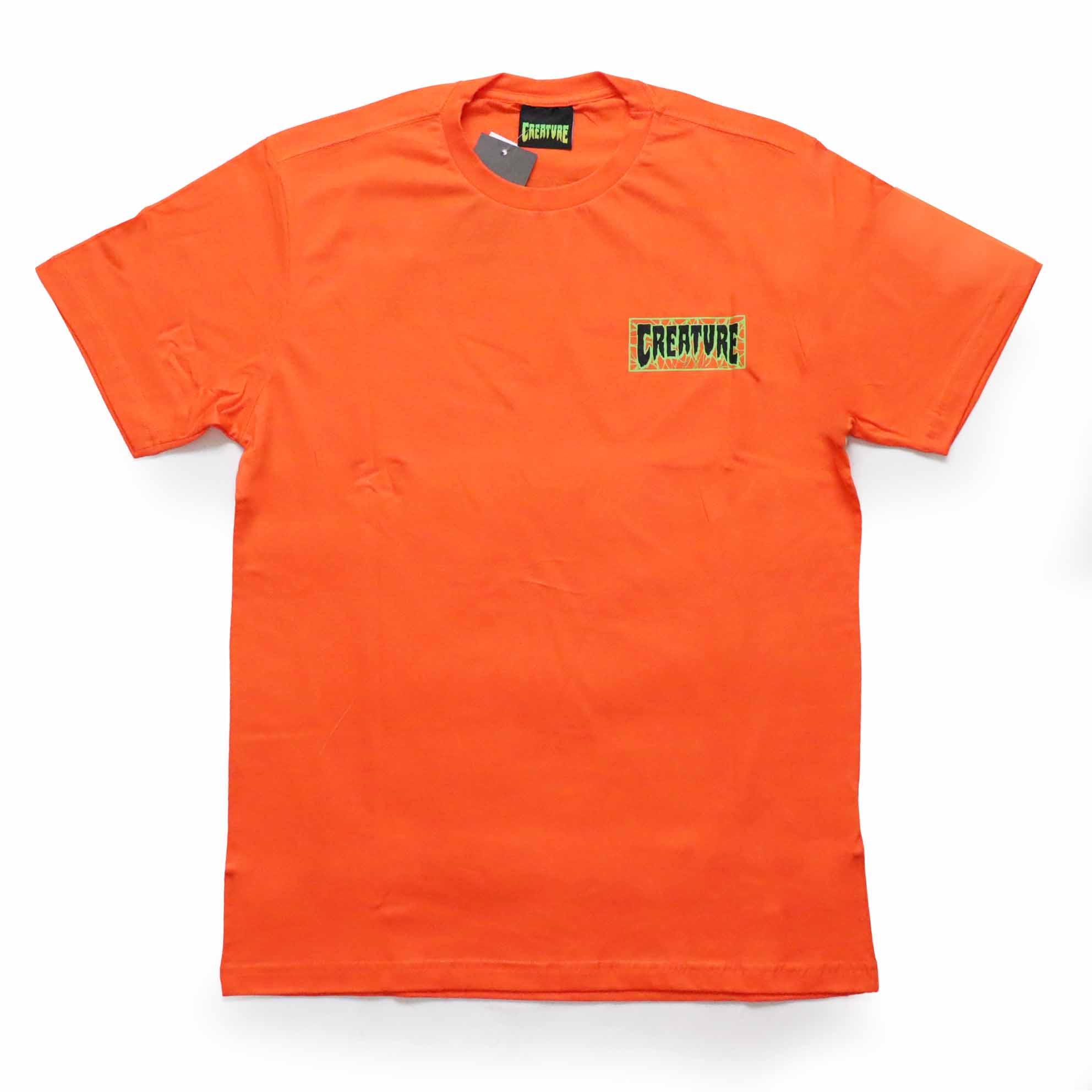 Camiseta Creature Ligaments - Laranja