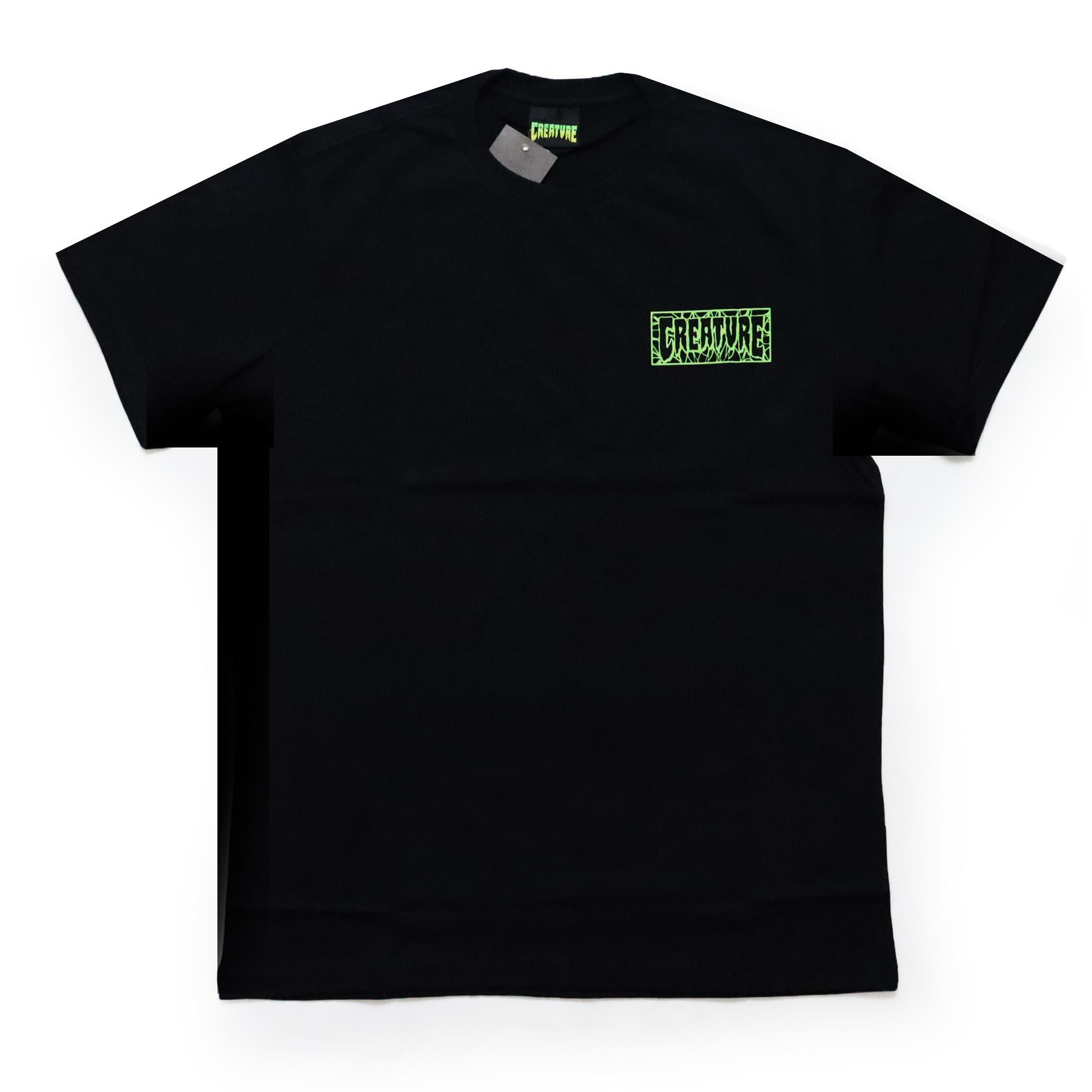 Camiseta Creature Ligaments - Preto