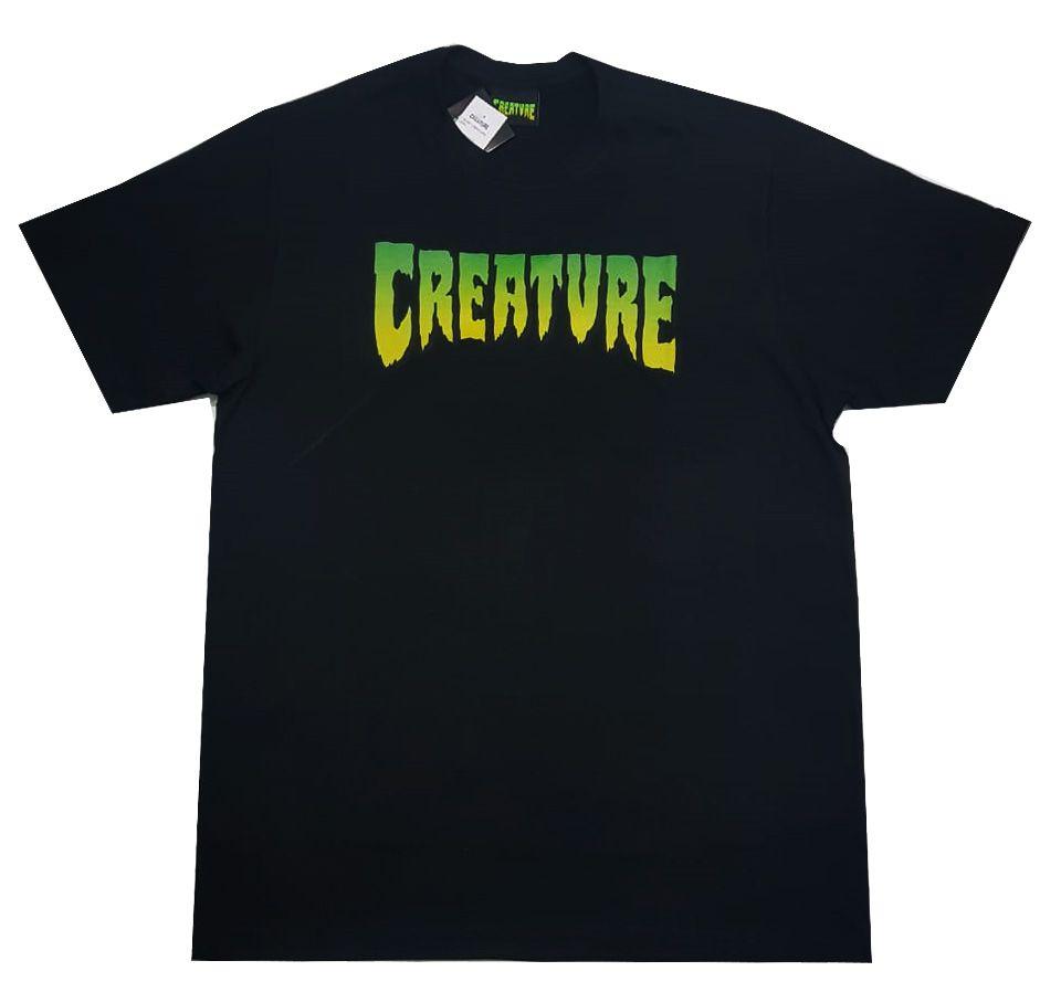 Camiseta Creature Logo - Black