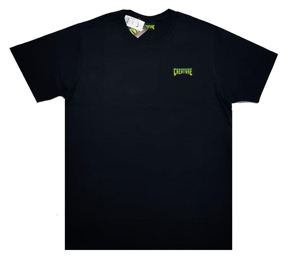 Camiseta Creature Logo Mini Black