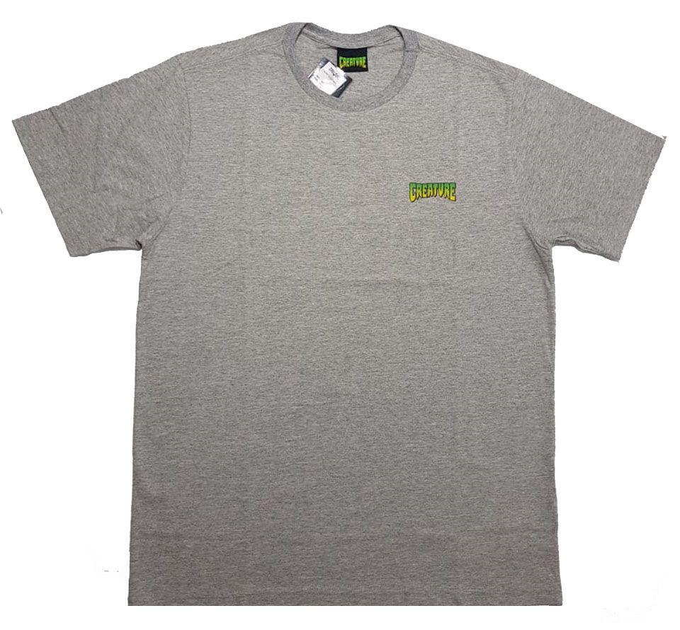 Camiseta Creature Logo Mini Grey