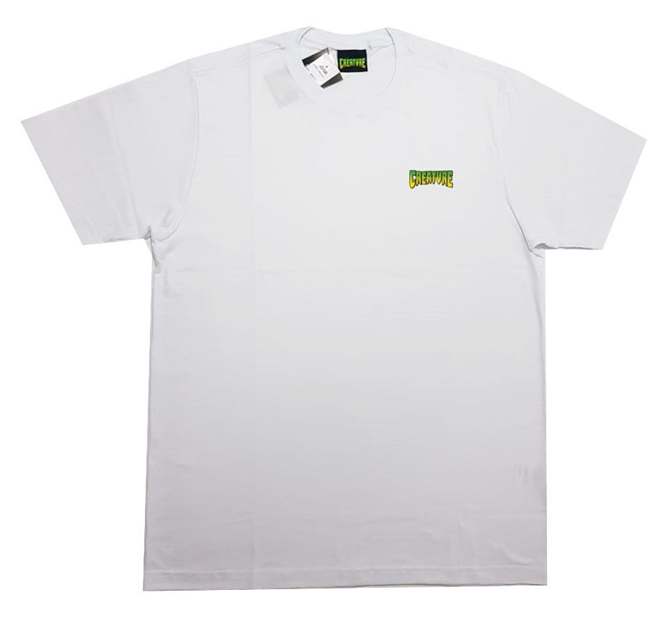 Camiseta Creature Logo Mini White