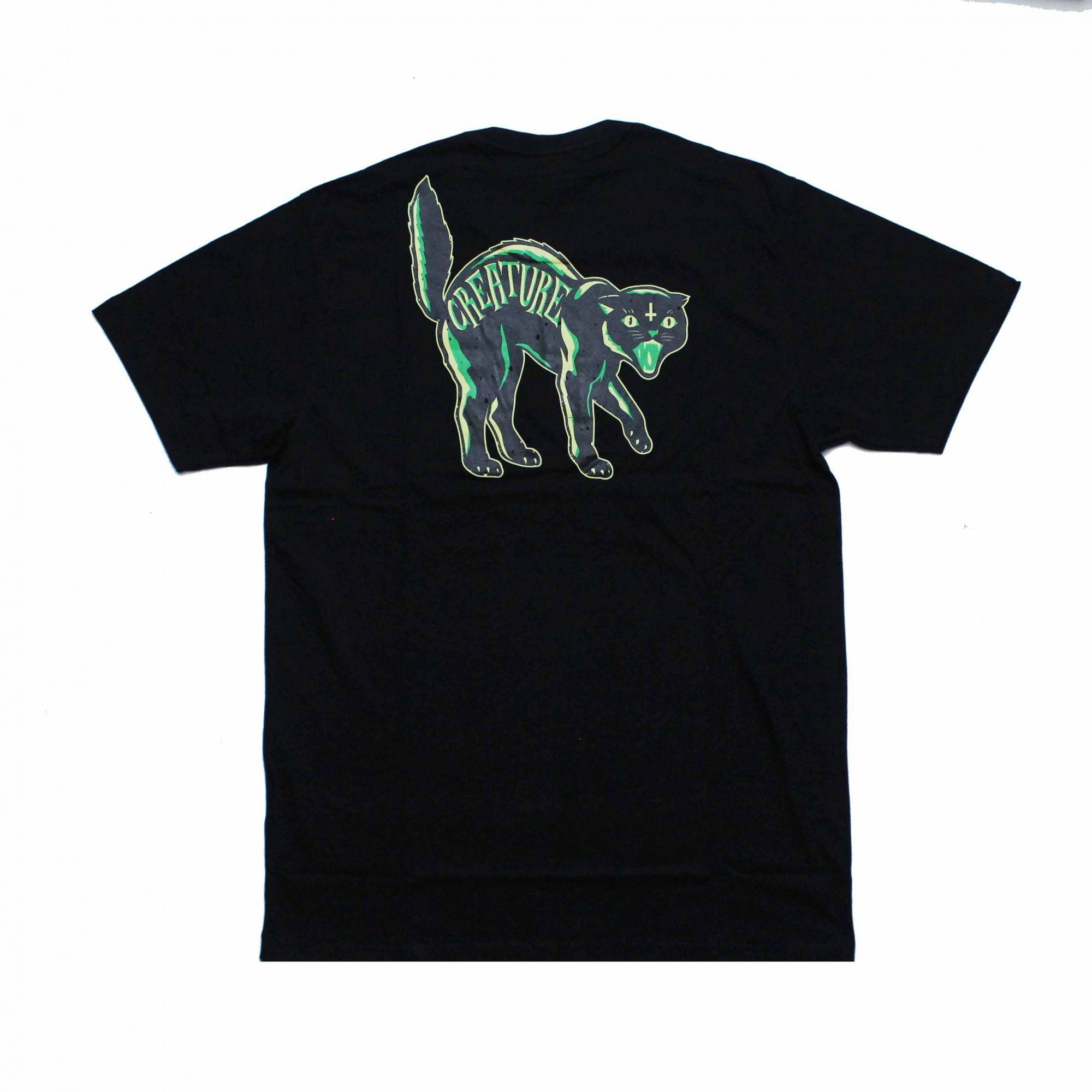 Camiseta Creature Los Gatos Preto