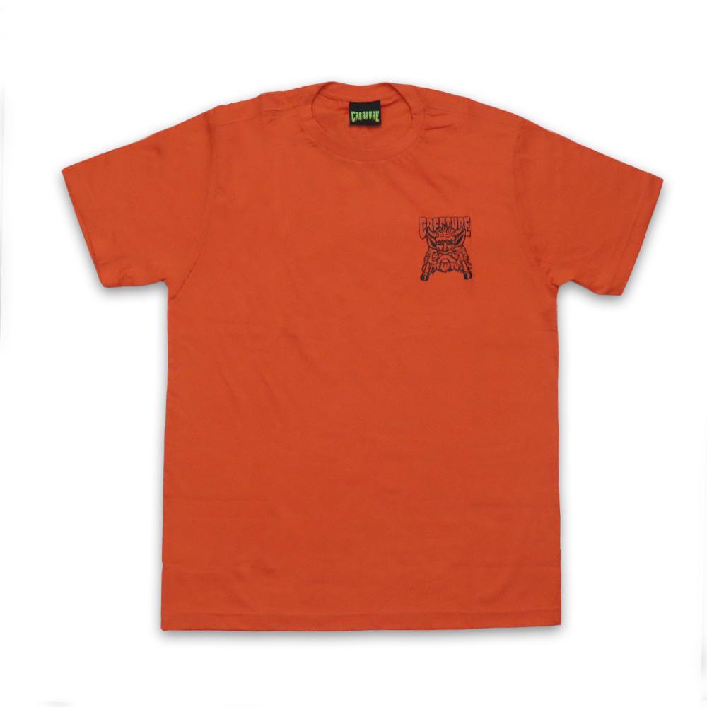 Camiseta Creature Offering - Laranja