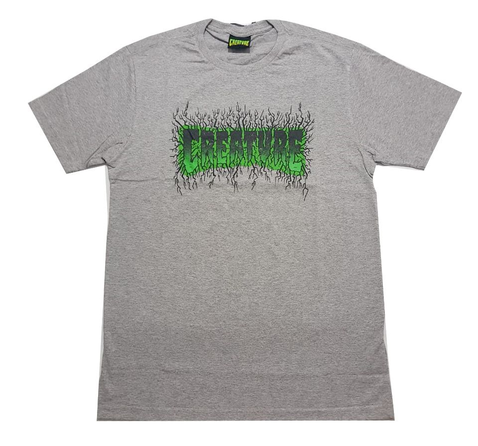 Camiseta Creature Pulse Grey