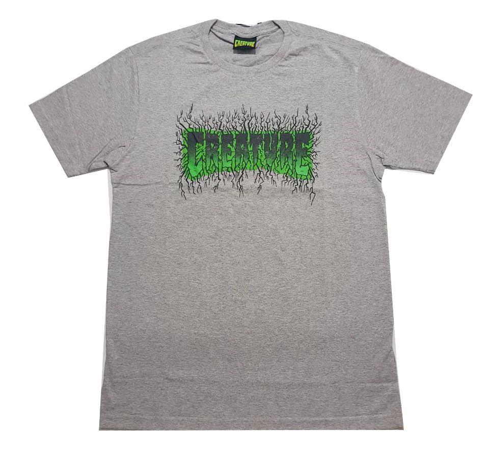 Camiseta Creature Pulse Grey