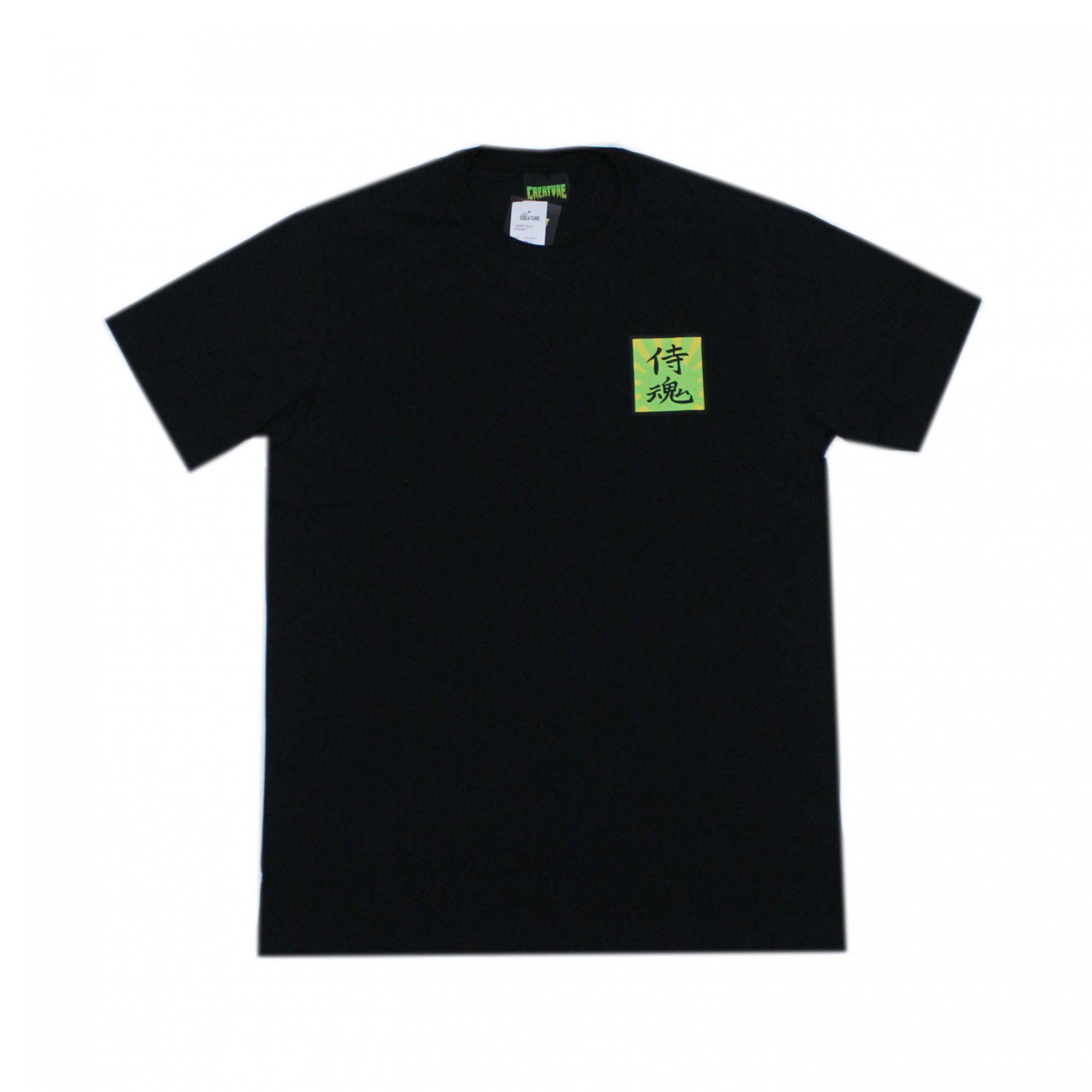 Camiseta Creature Servant Preto