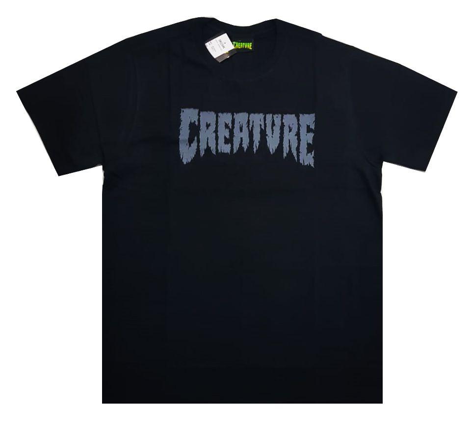 Camiseta Creature Shredded Black