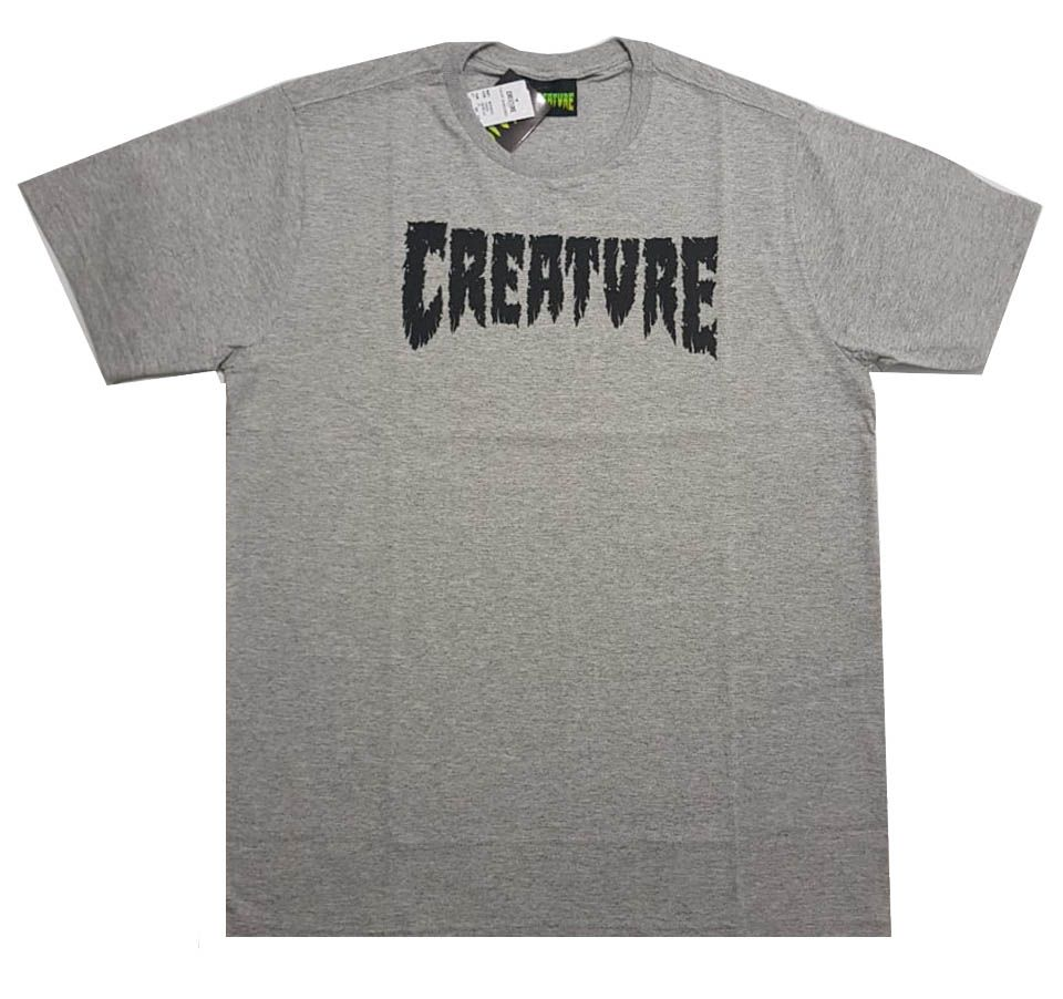Camiseta Creature Shredded Grey