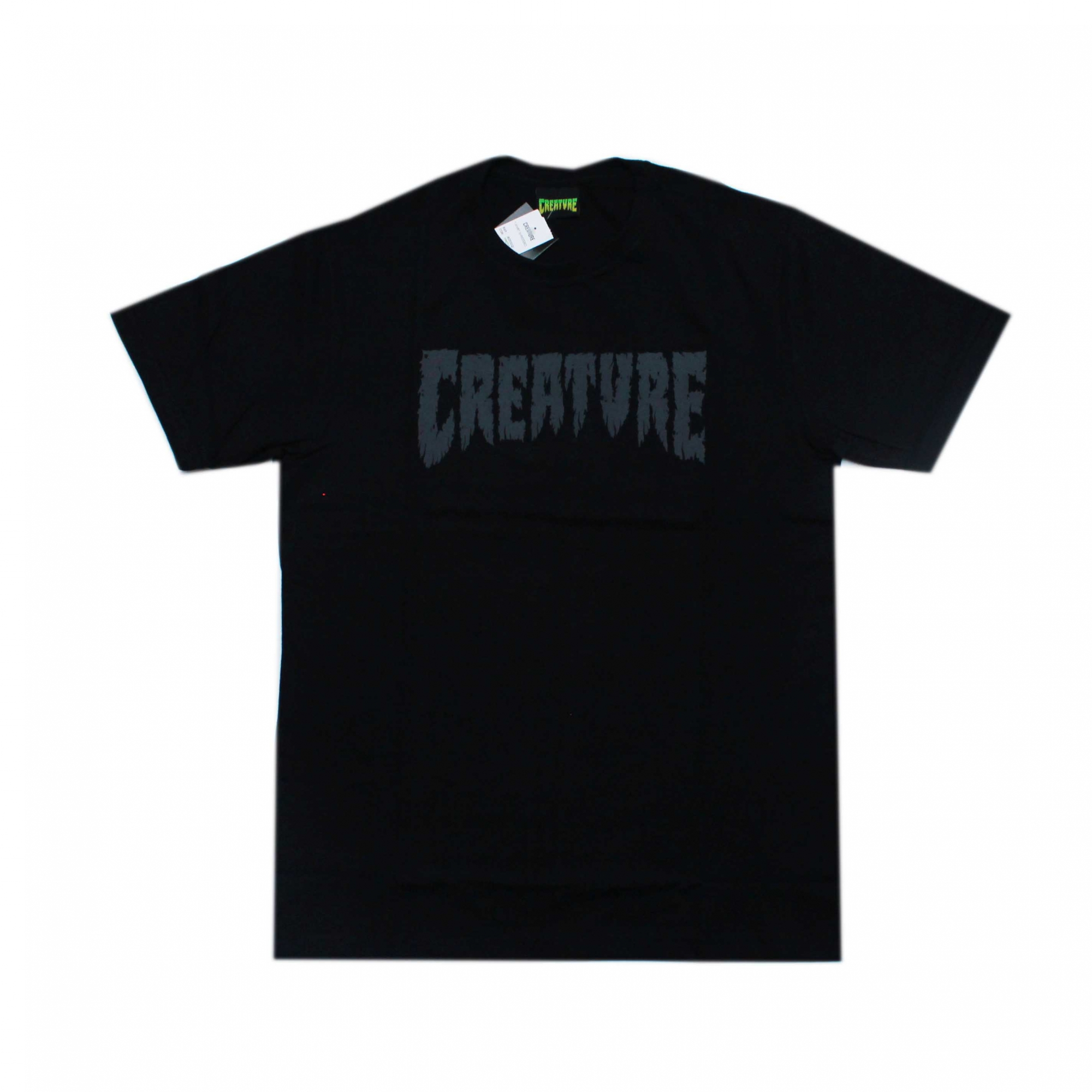 Camiseta Creature Shredded - Preto