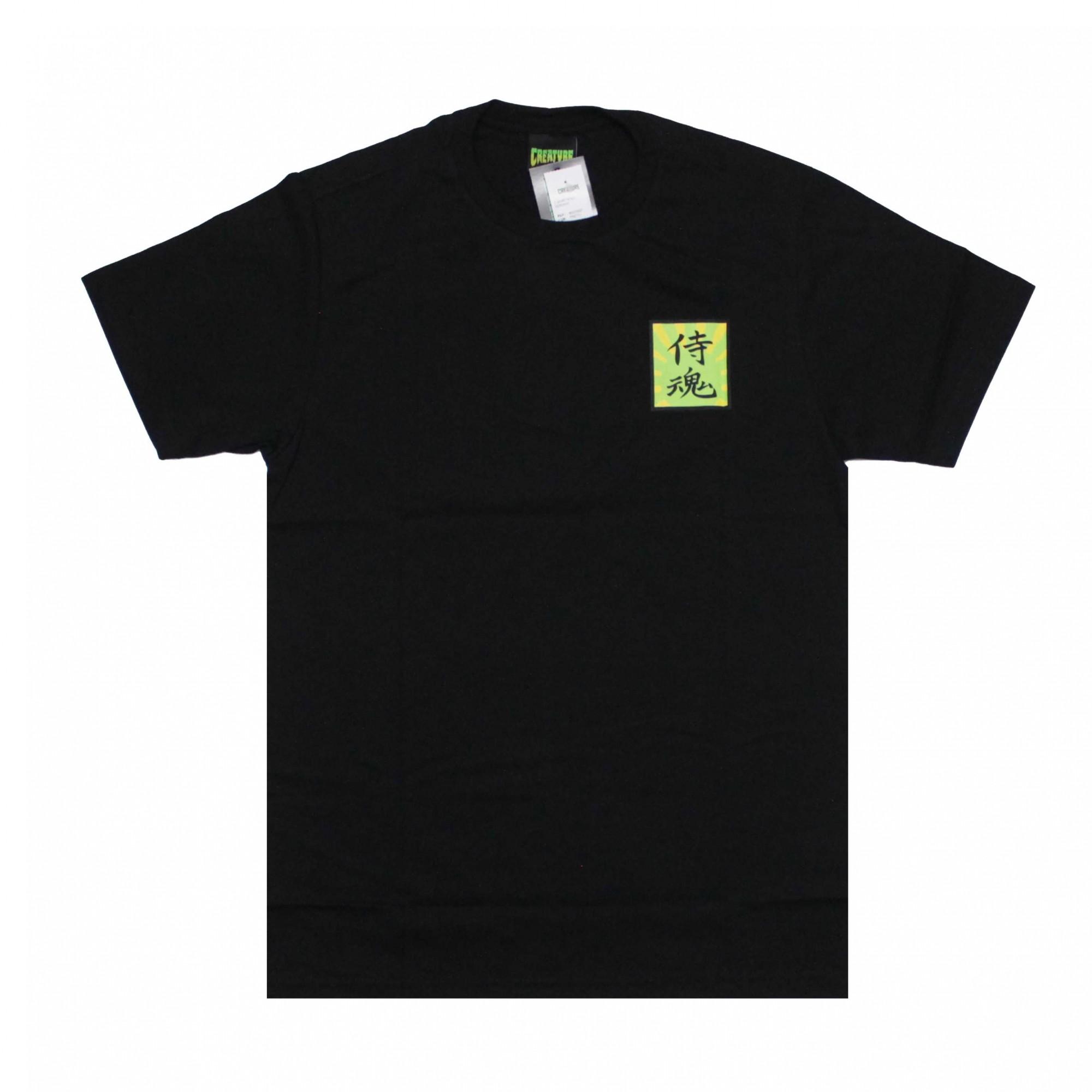 Camiseta Creature Soul Servant - Preto