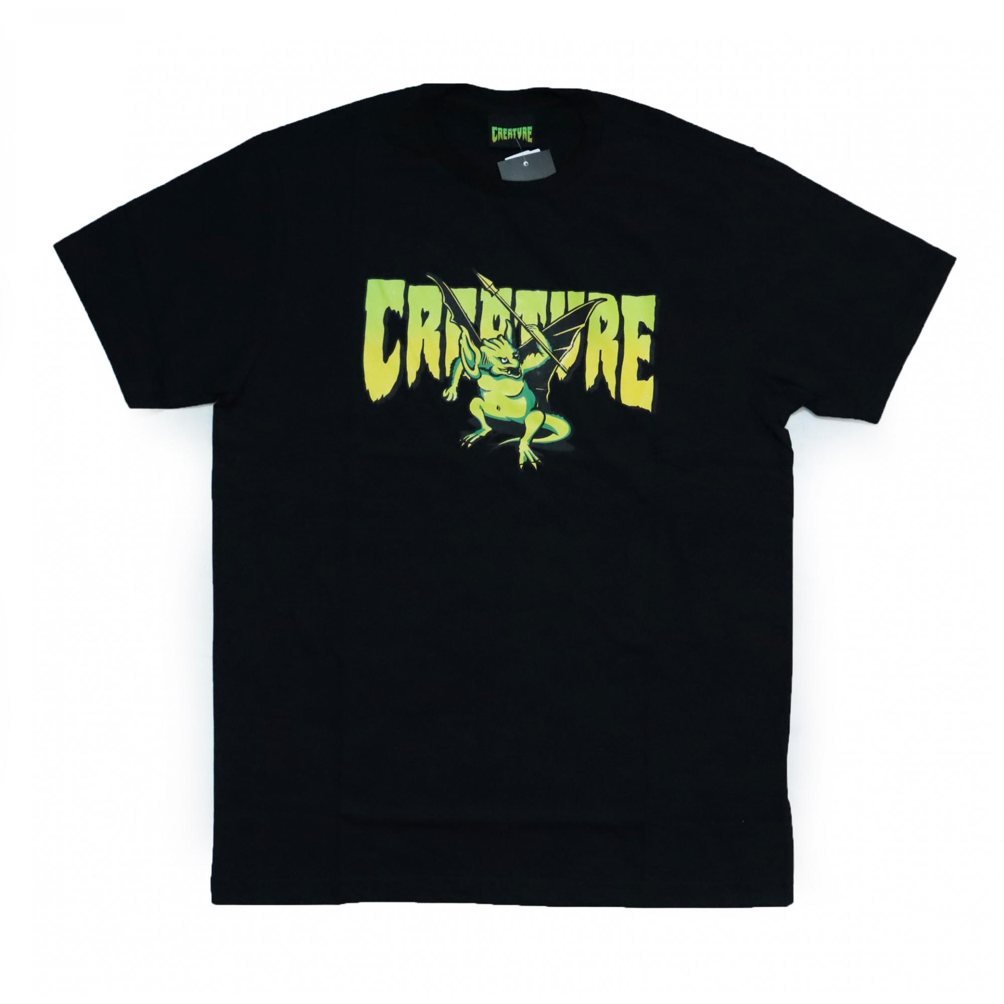 Camiseta Creature Swamper - Preto