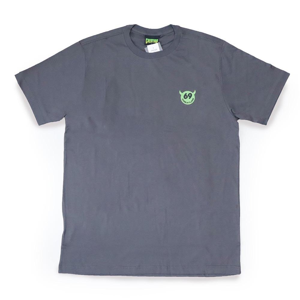 Camiseta Creature Too Horny - Chumbo Mescla