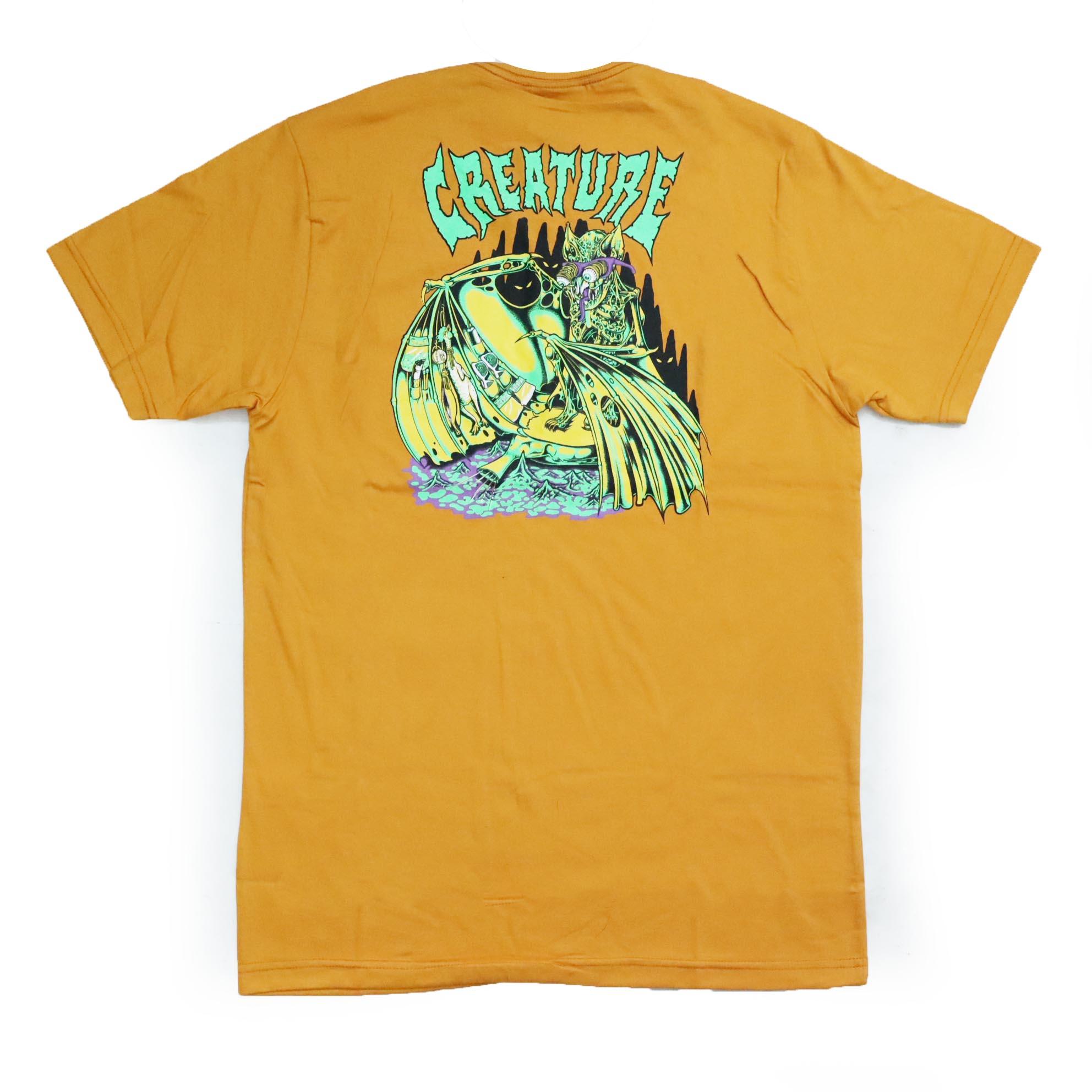 Camiseta Creature Trader - Amarelo Mostarda
