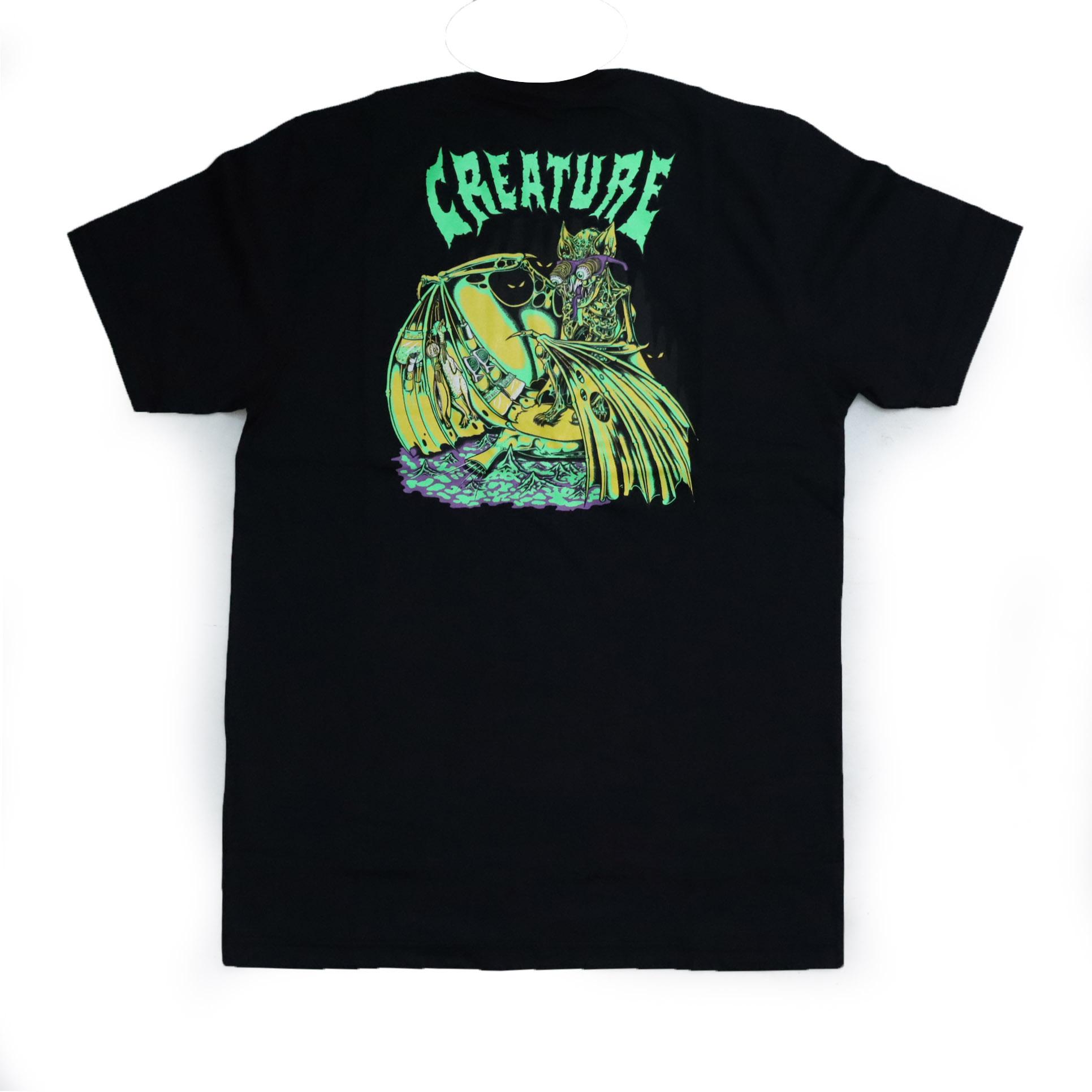 Camiseta Creature Trader - Preto