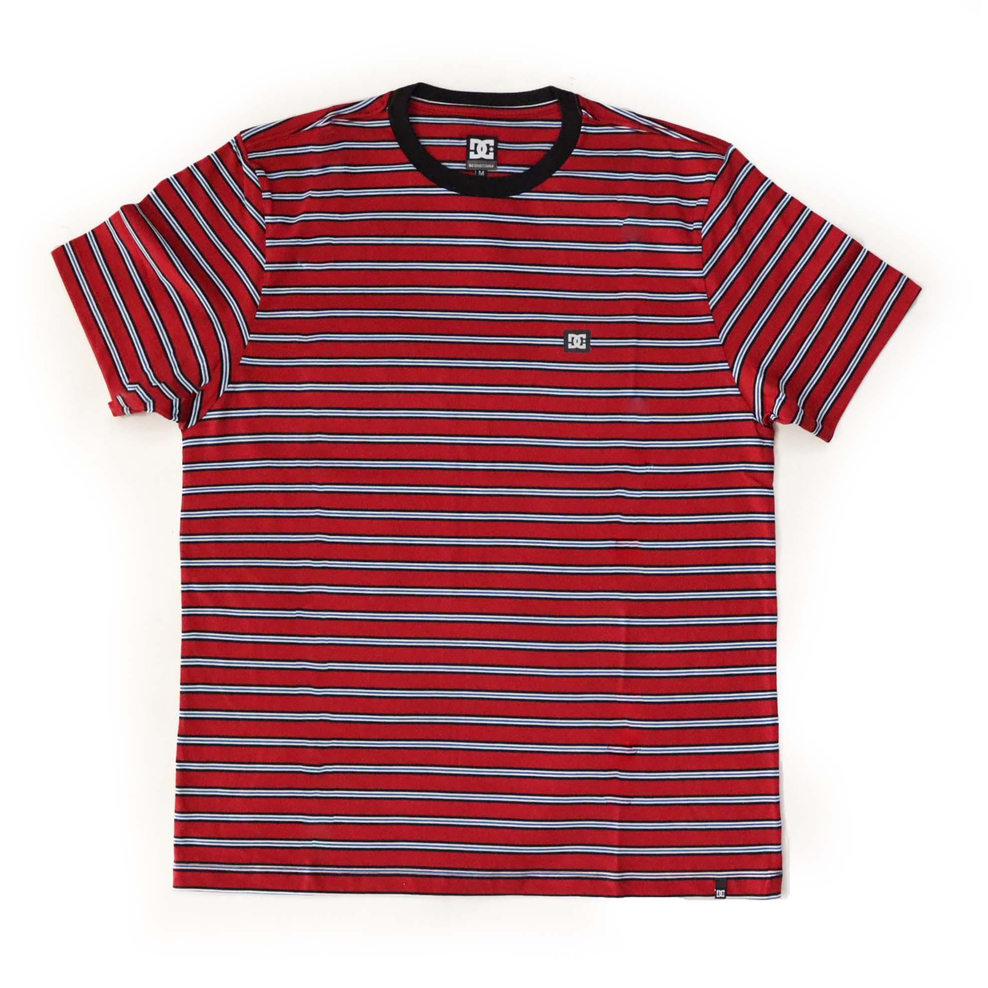 Camiseta DC Shoes Interwine - Vermelho Escuro