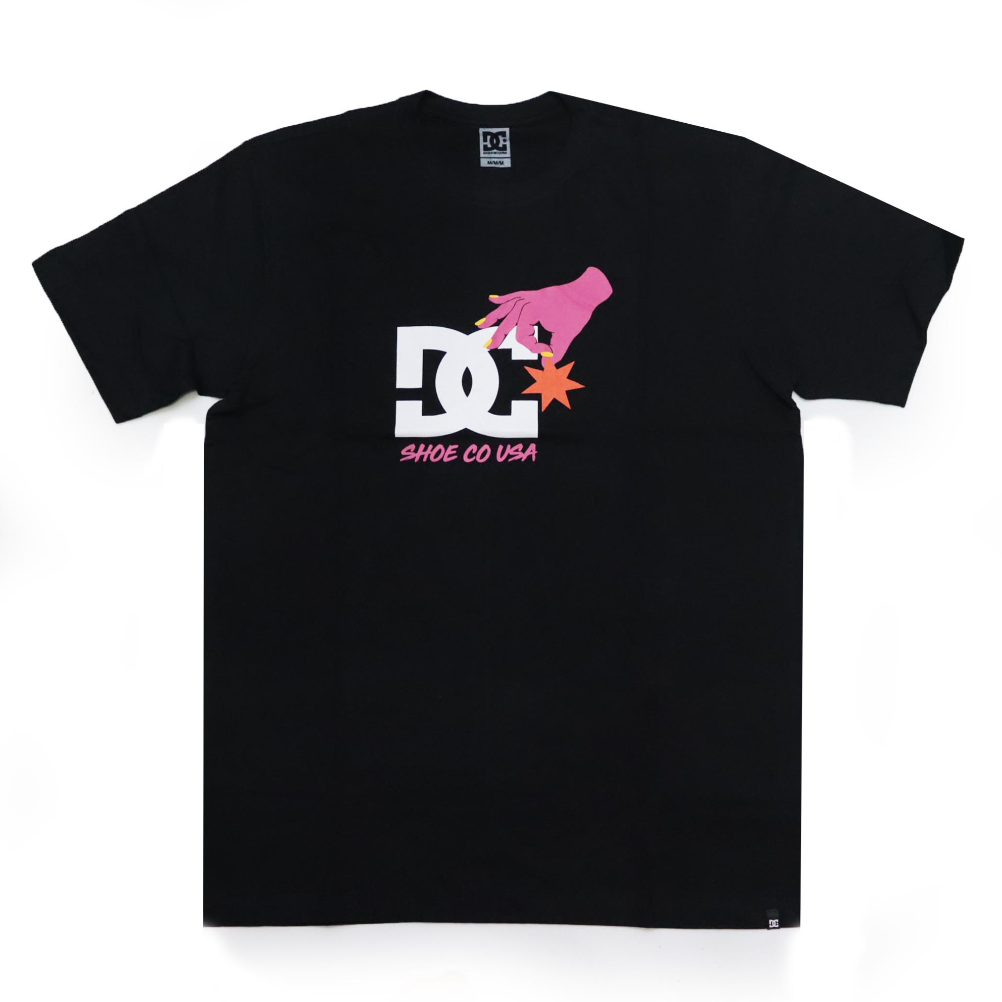 Camiseta DC Shoes Keep Star In Place - Preto