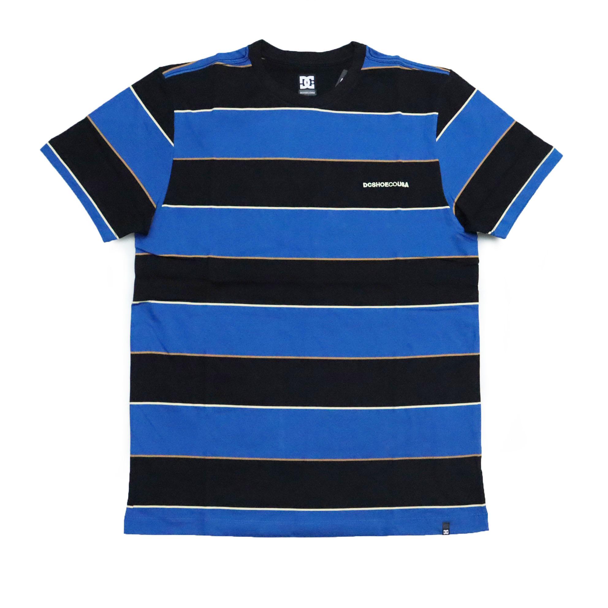 Camiseta DC Shoes Rally Stripe - Azul/Preto