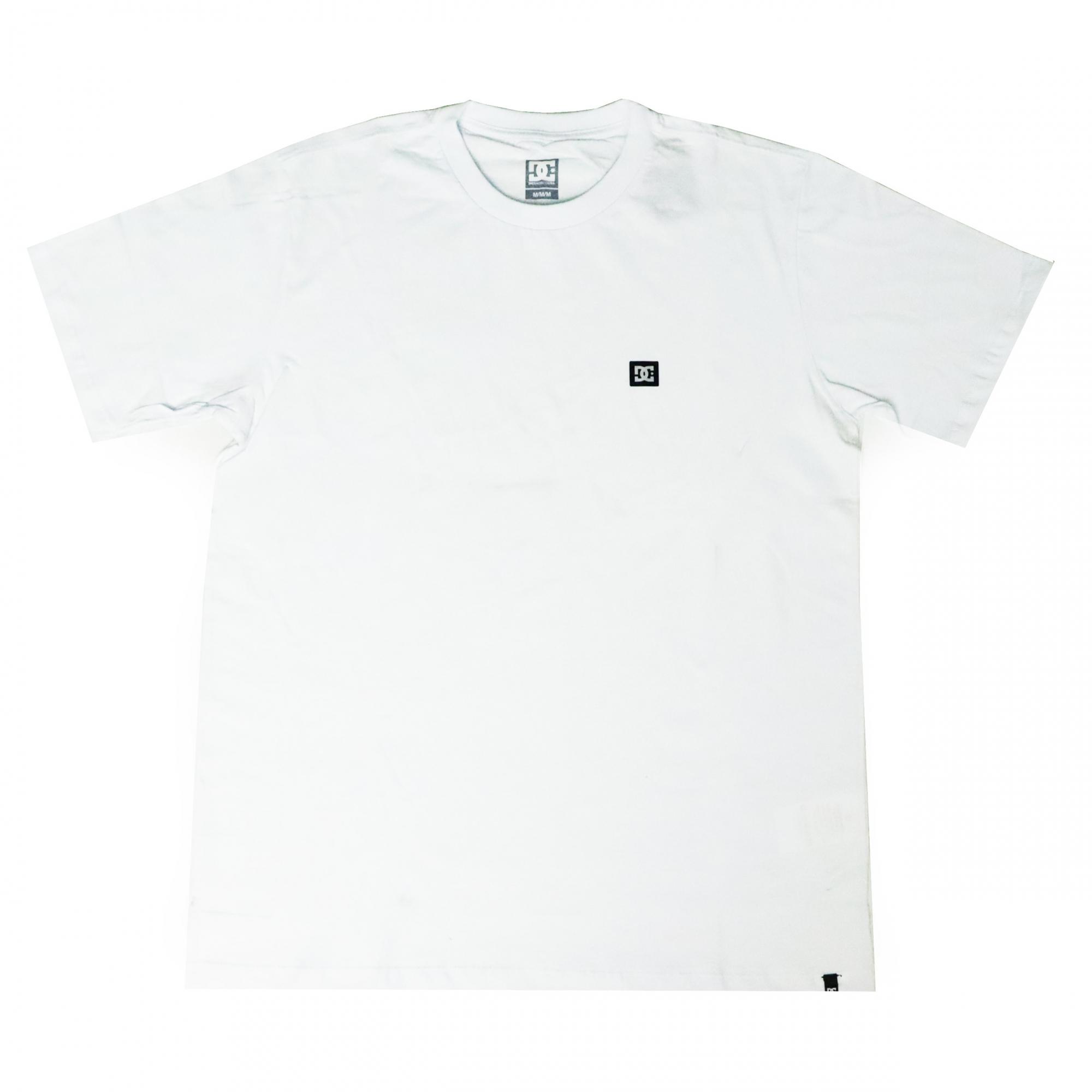 Camiseta DC Shoes Super Transfer - Branco