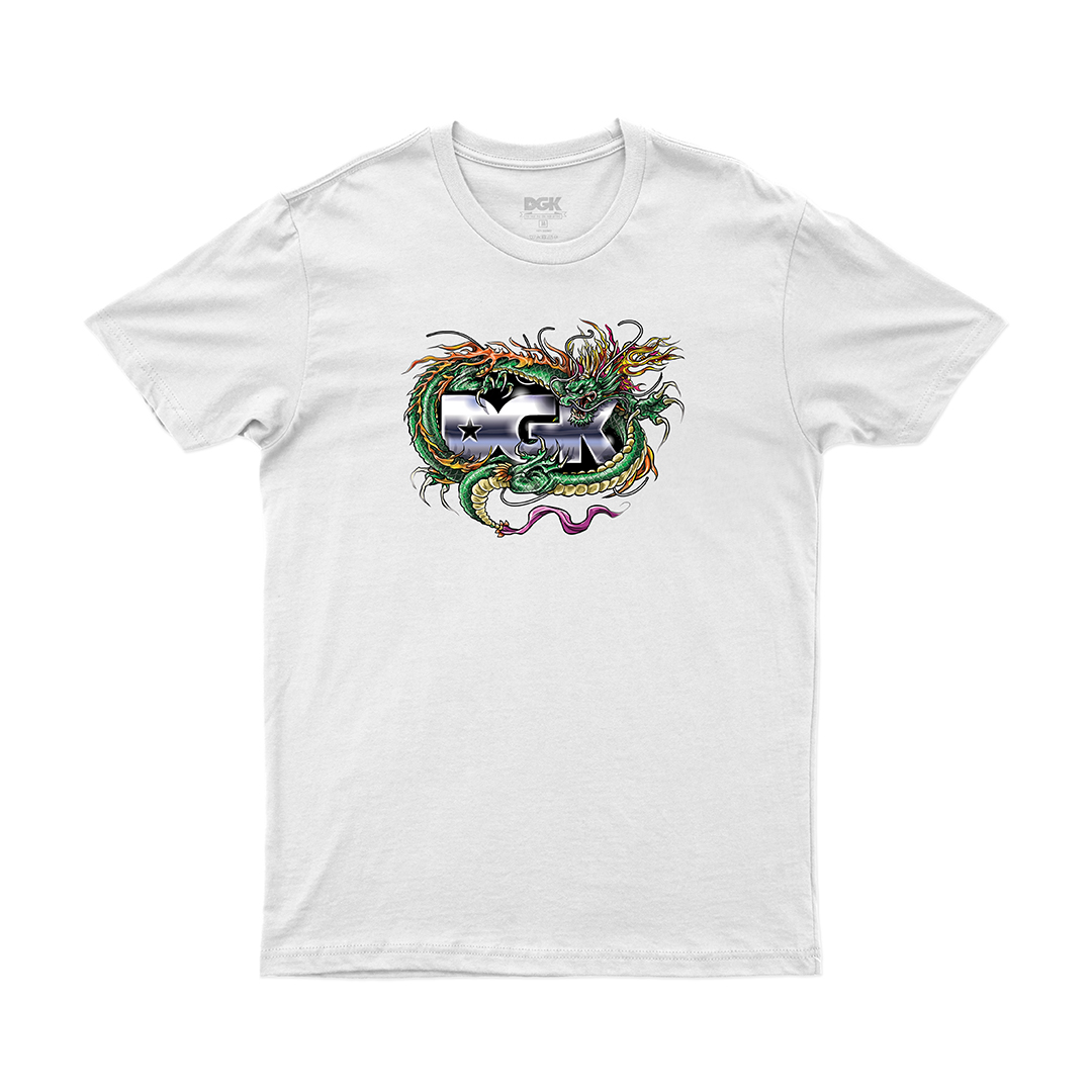 Camiseta DGK Black Metak - Branco