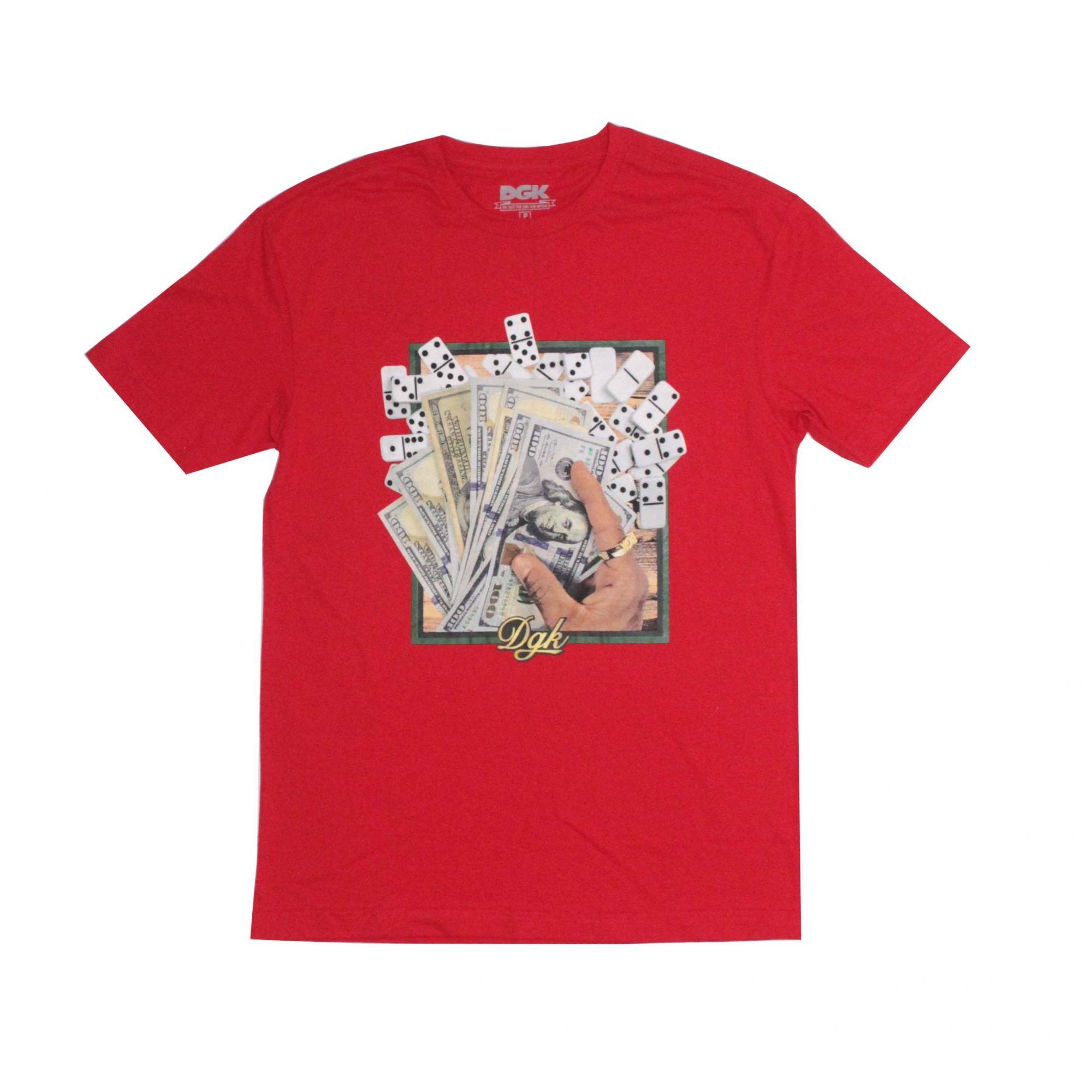Camiseta DGK Bones Vermelho
