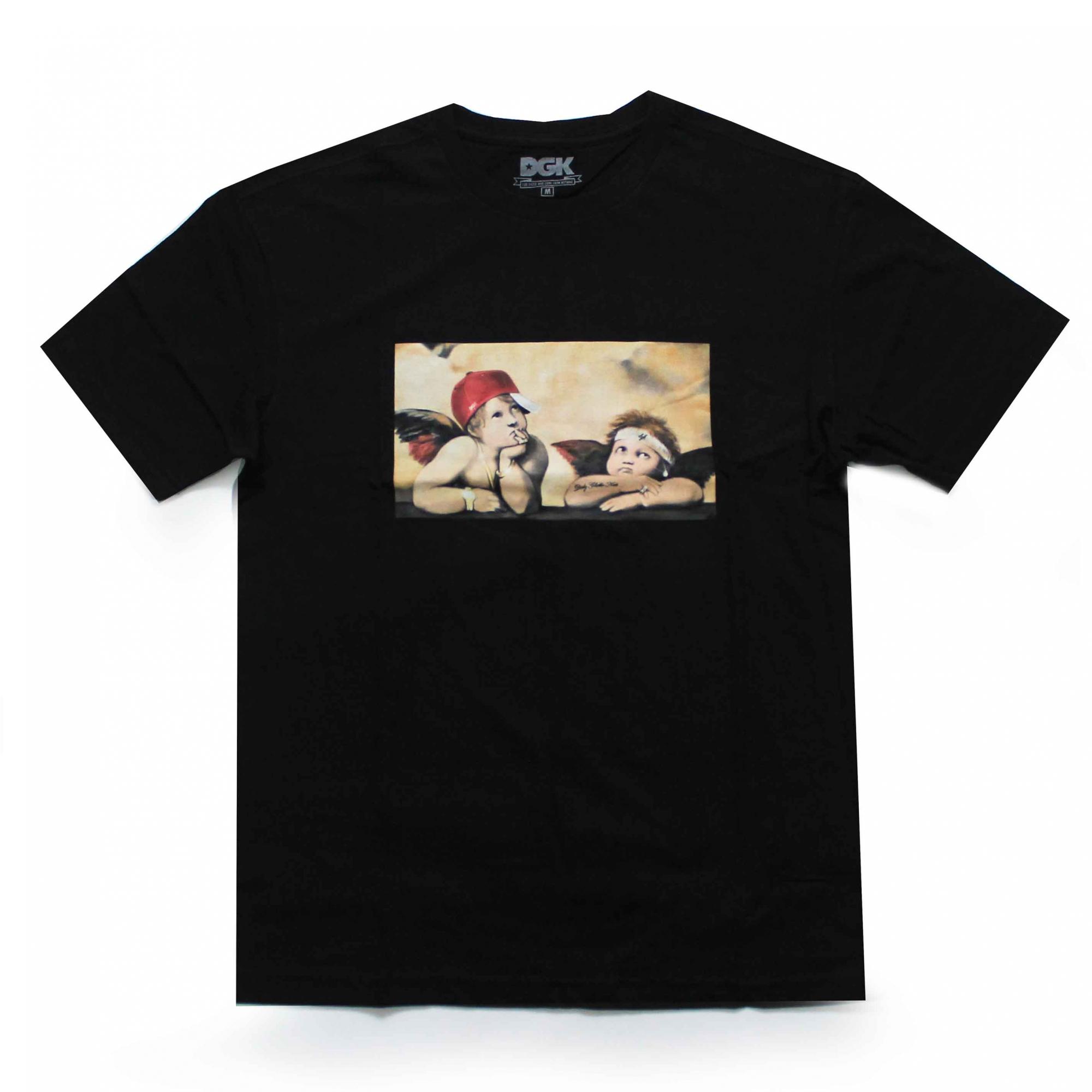 Camiseta DGK Cherubs - Preto