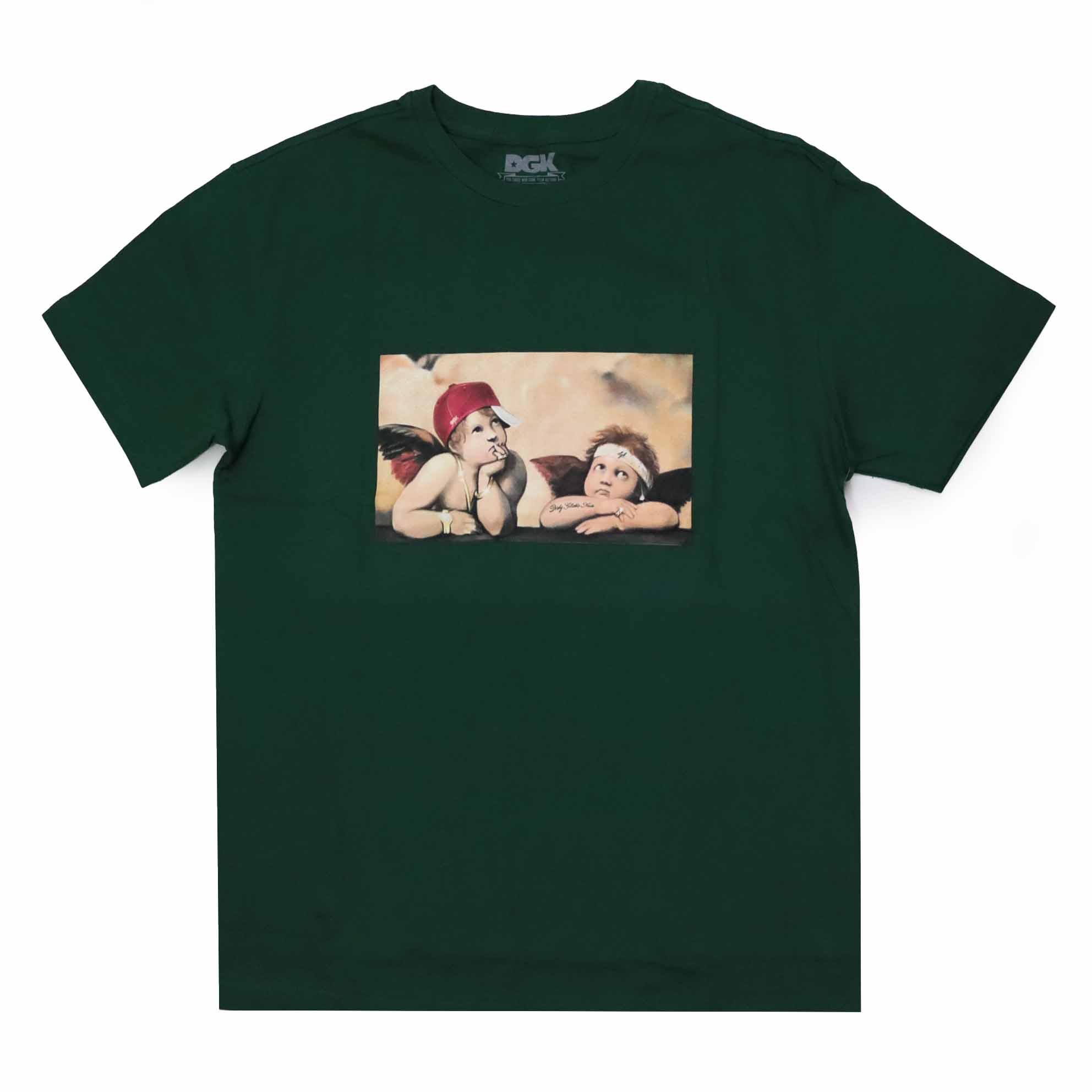 Camiseta DGK Cherubs - Verde Escuro