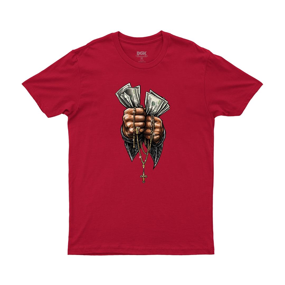 Camiseta DGK Faith - Vermelho