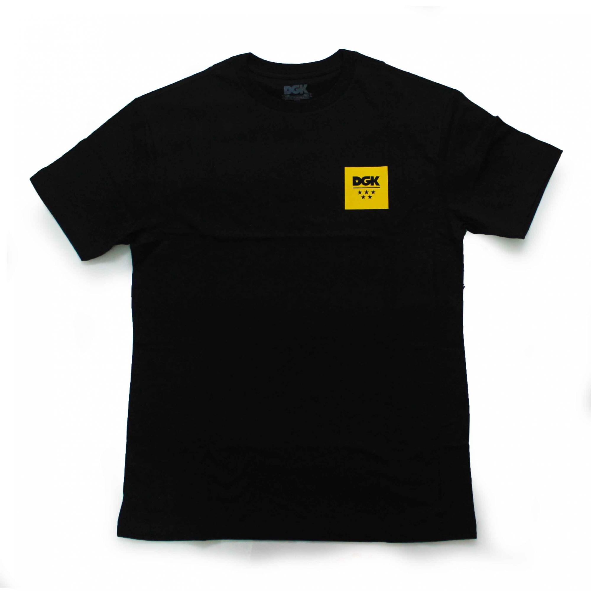 Camiseta DGK New Square - Preto