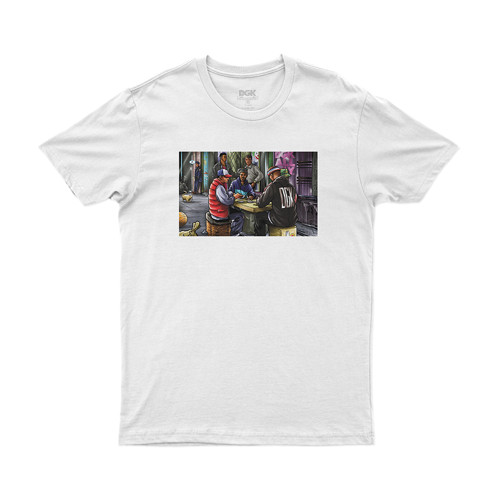 Camiseta DGK Our Block - Branco