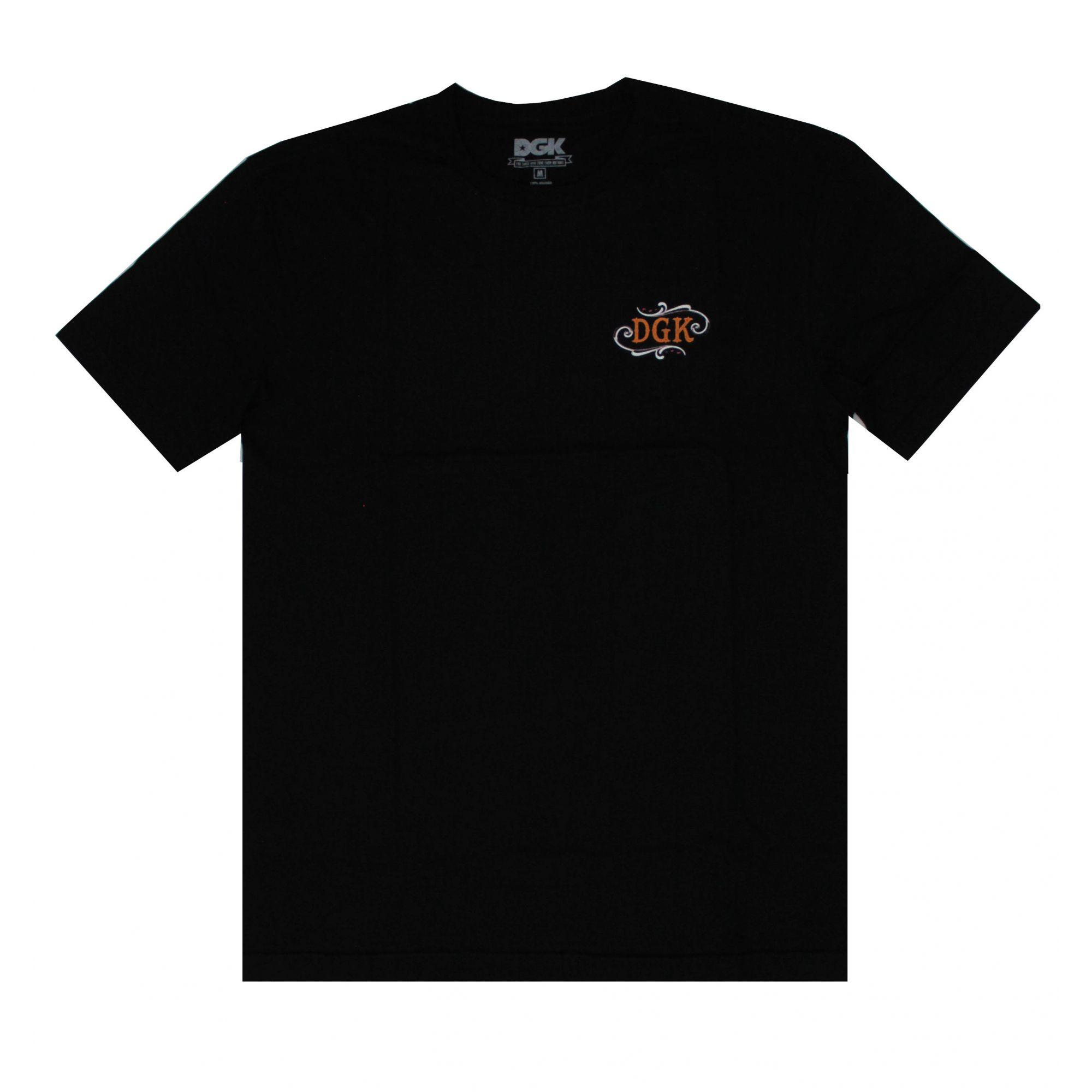 Camiseta DGK Paid And Full Preto