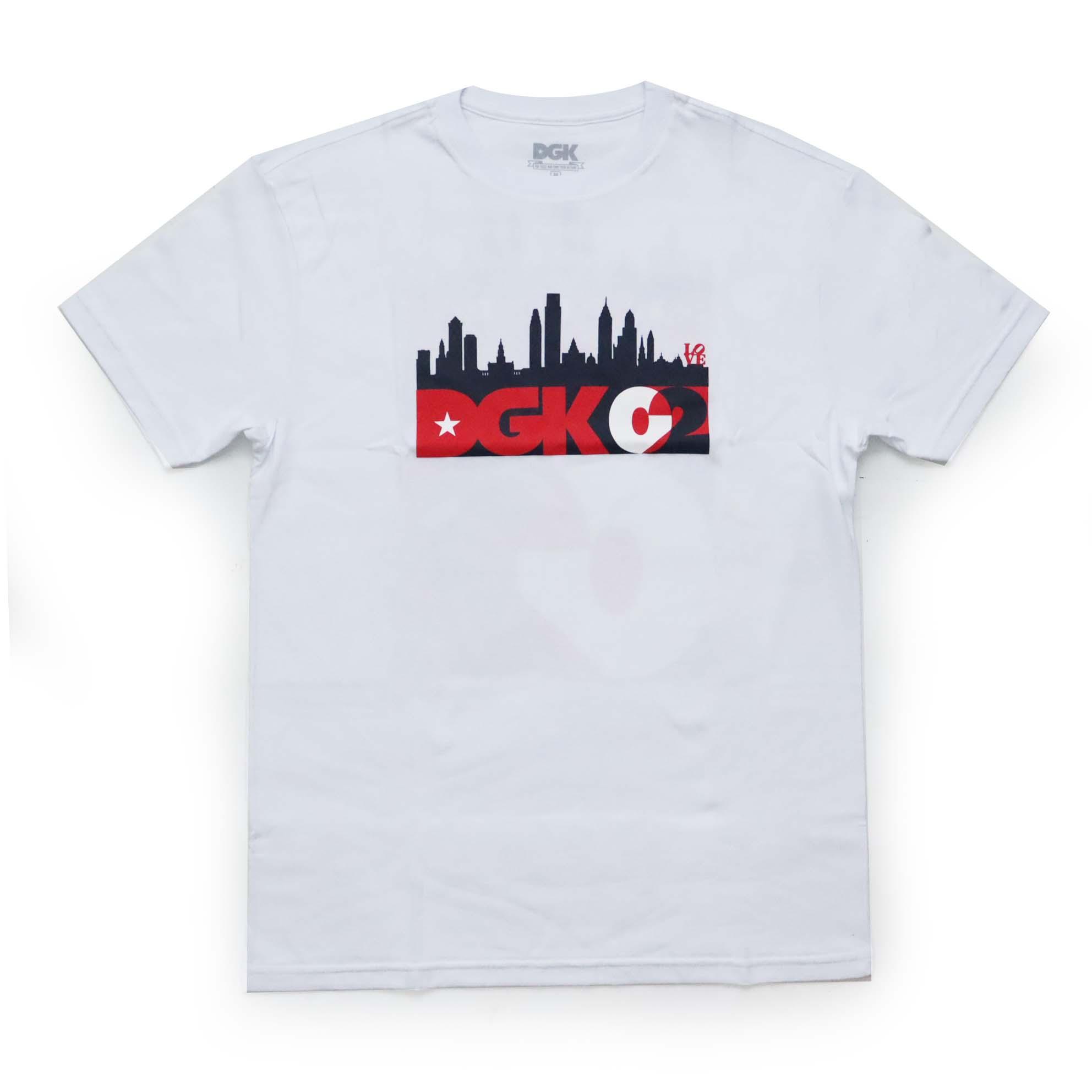 Camiseta DGK Skyline - Branco