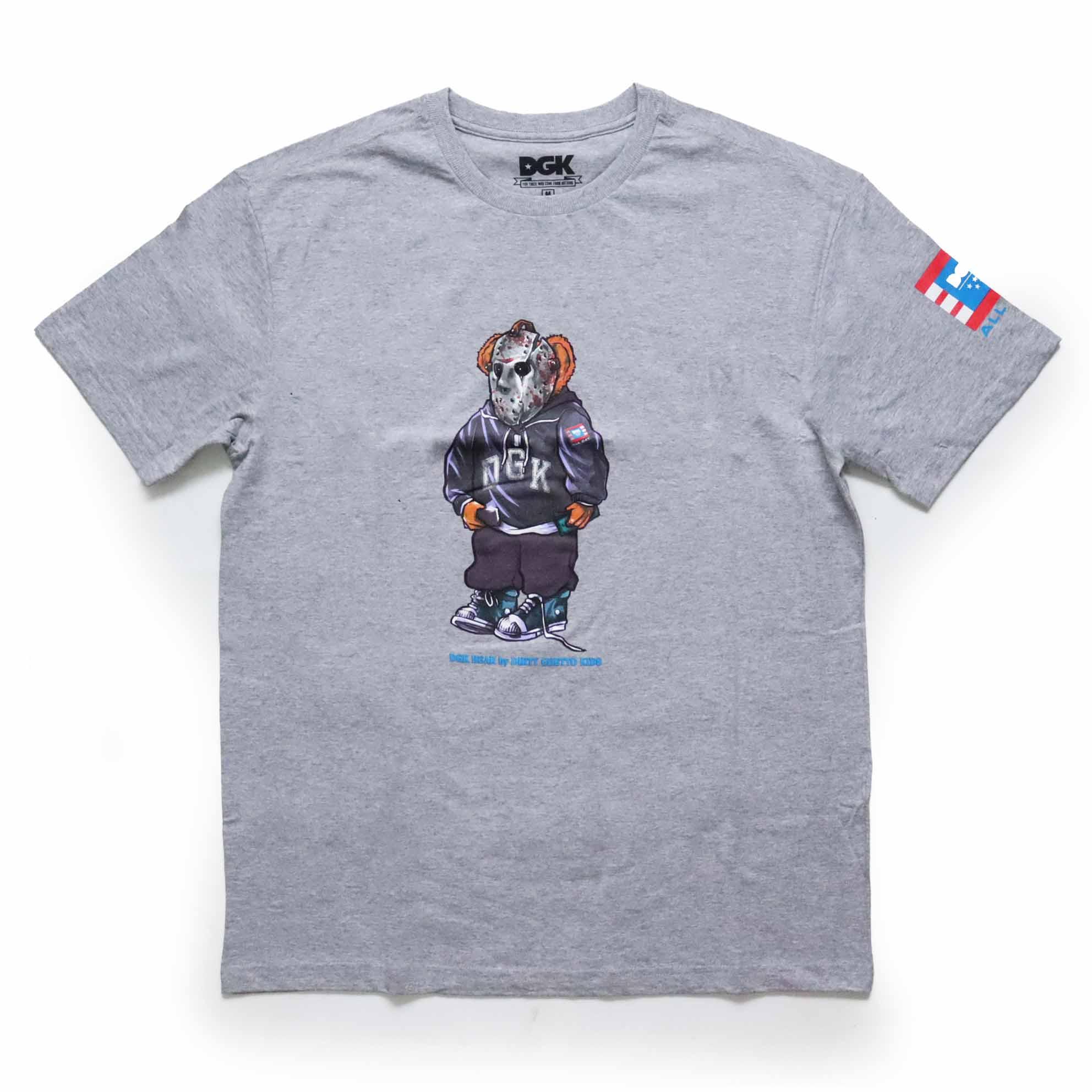 Camiseta DGK The Plung - Cinza Mescla