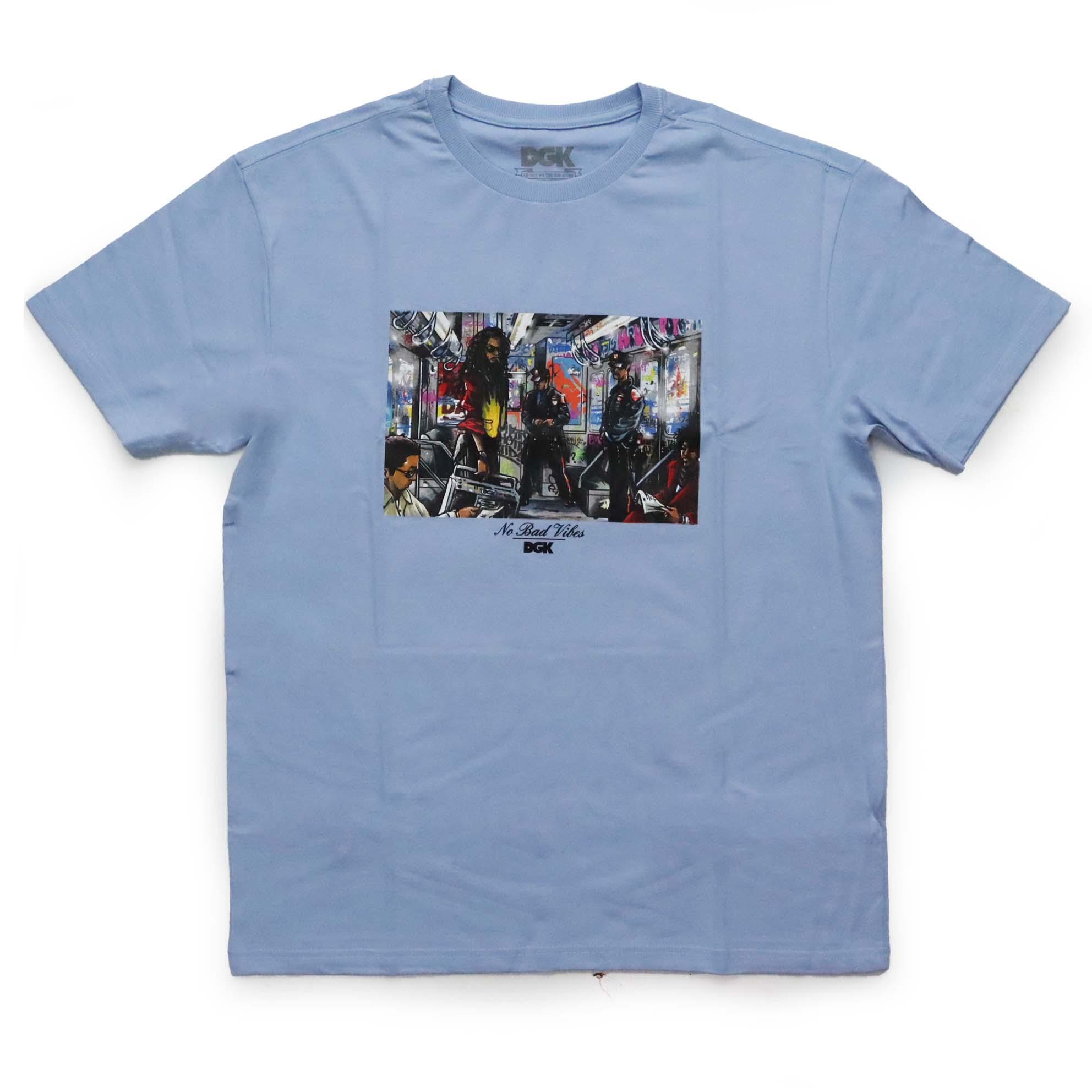 Camiseta DGK Trenchtown - Azul