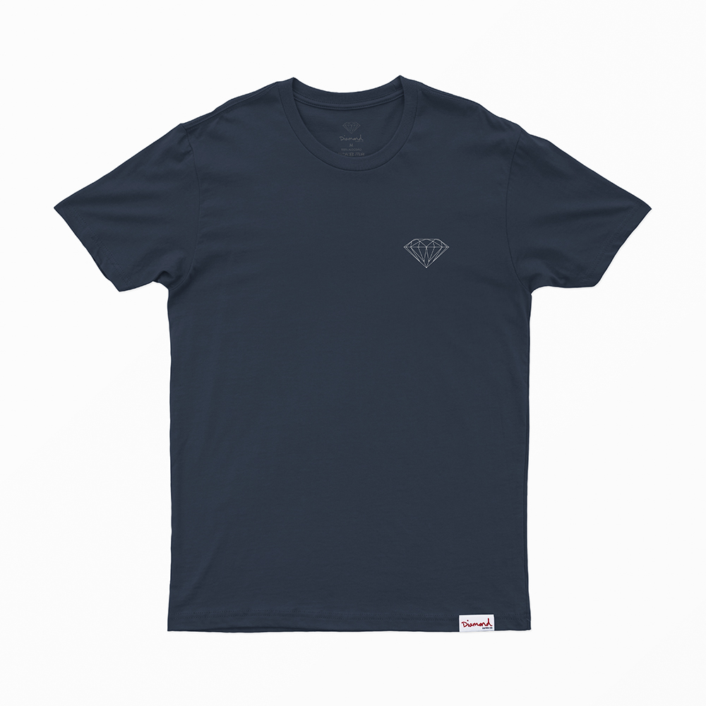 Camiseta Diamond Brilliant - Azul Marinho