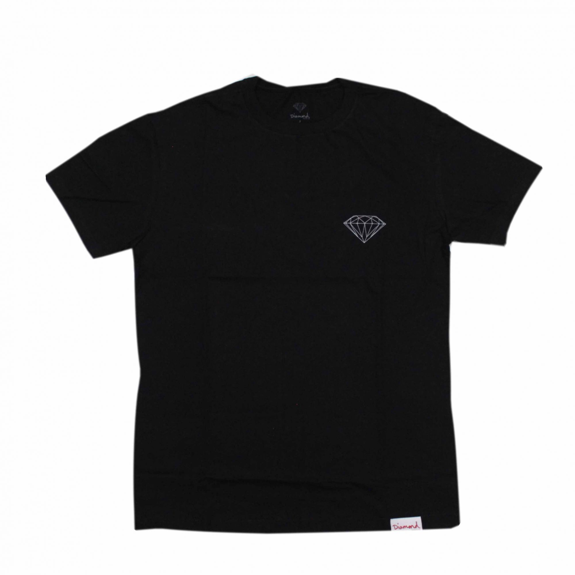 Camiseta Diamond Brilliant Preto