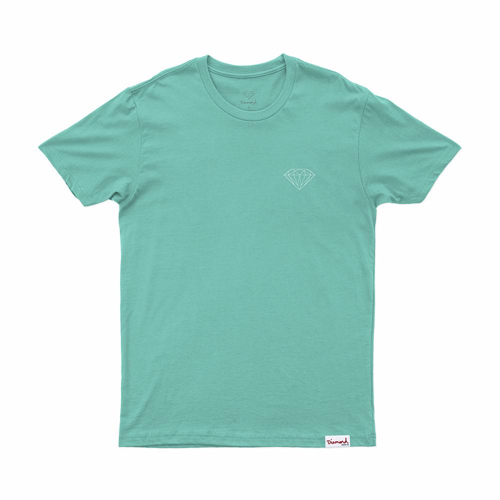 Camiseta Diamond Brilliant - Verde Àgua