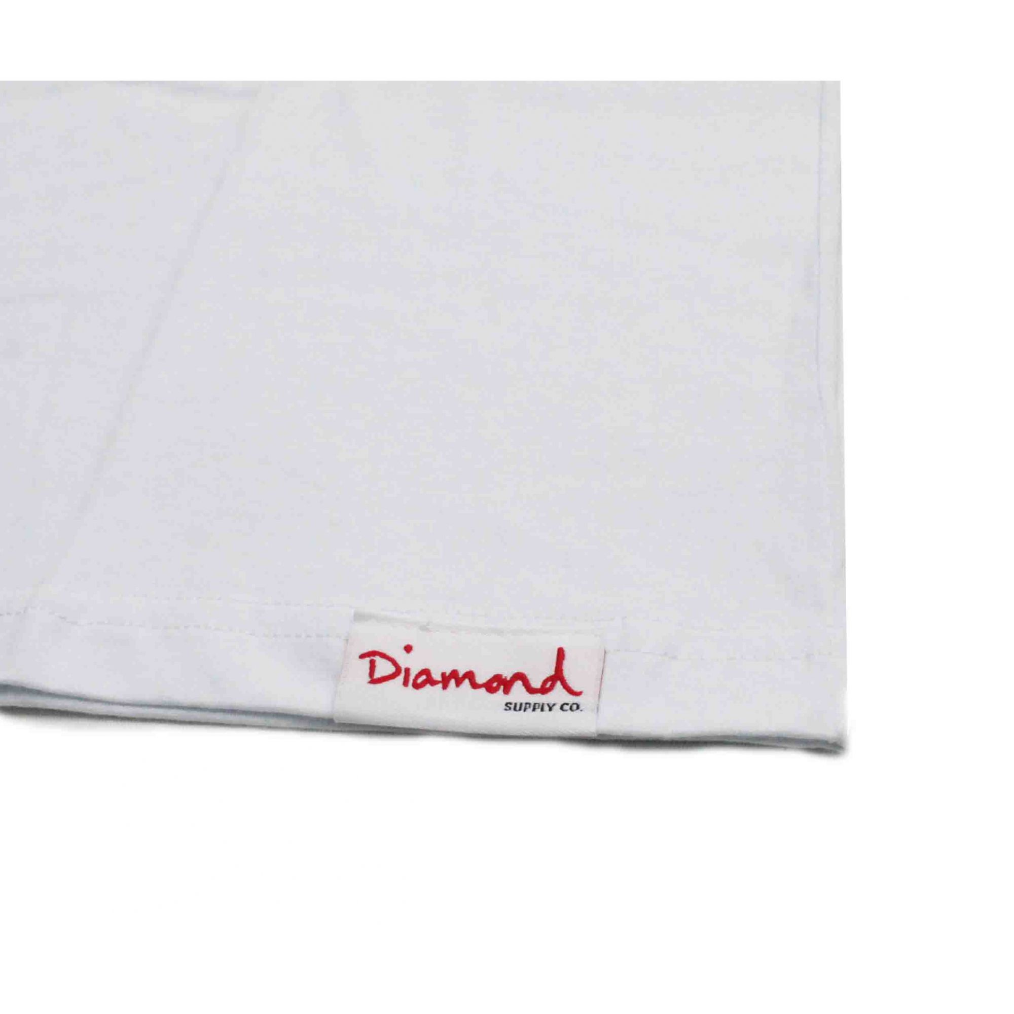 Camiseta Diamond Brilliant White