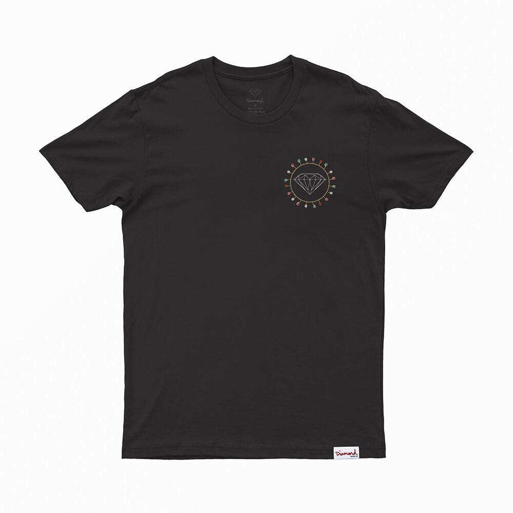 Camiseta Diamond Chain - Preto