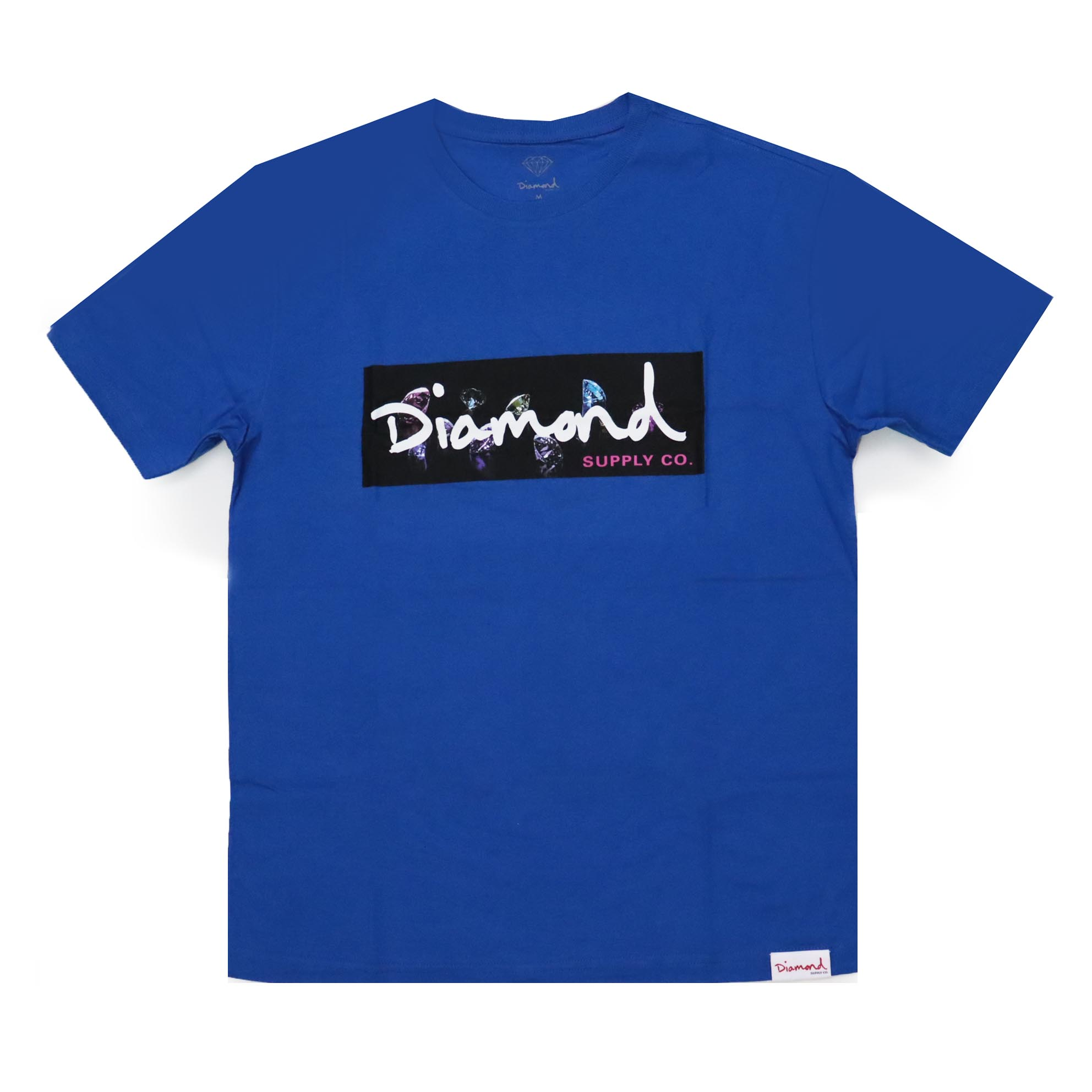 Camiseta Diamond Color Box - Azul Royal