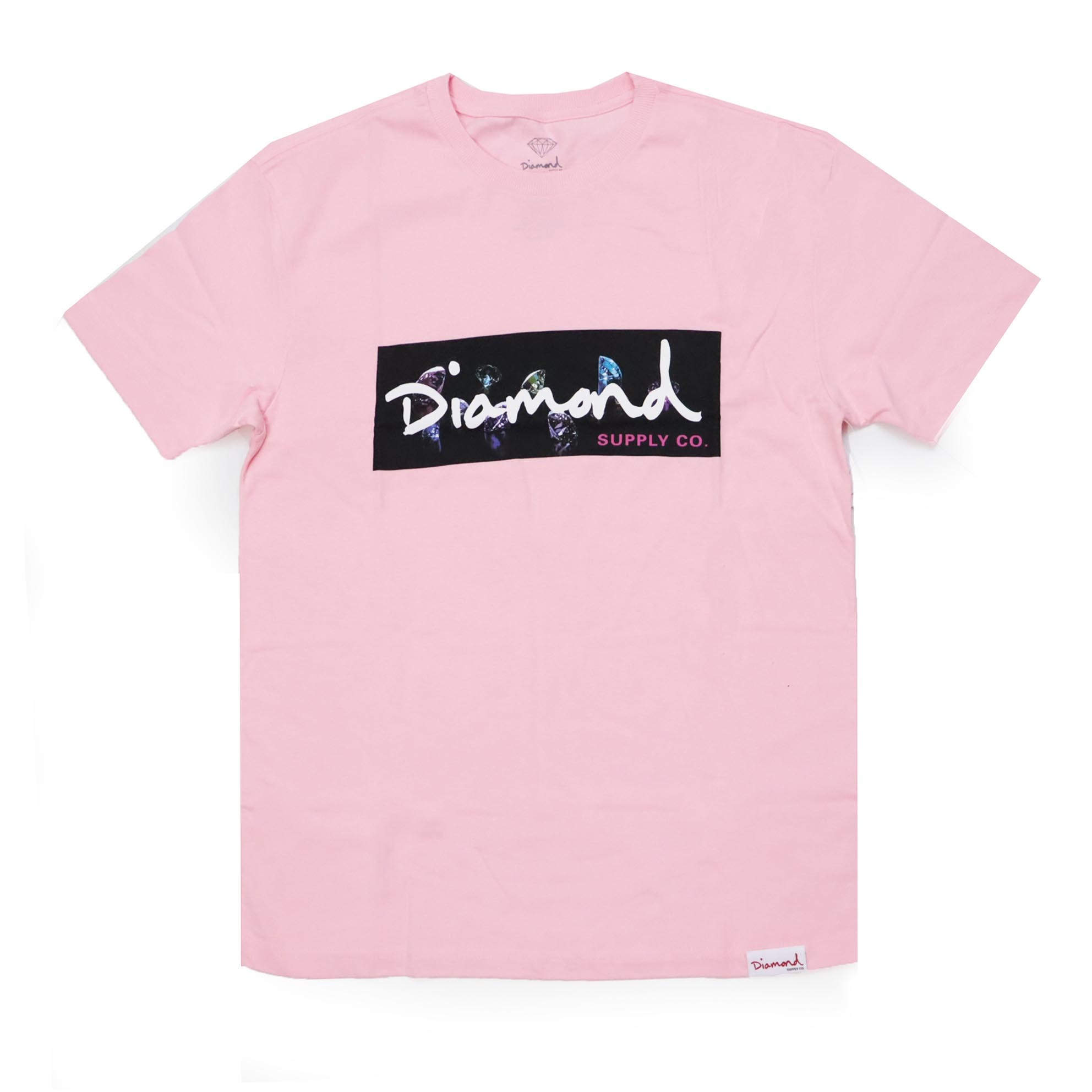 Camiseta Diamond Color Box - Rosa