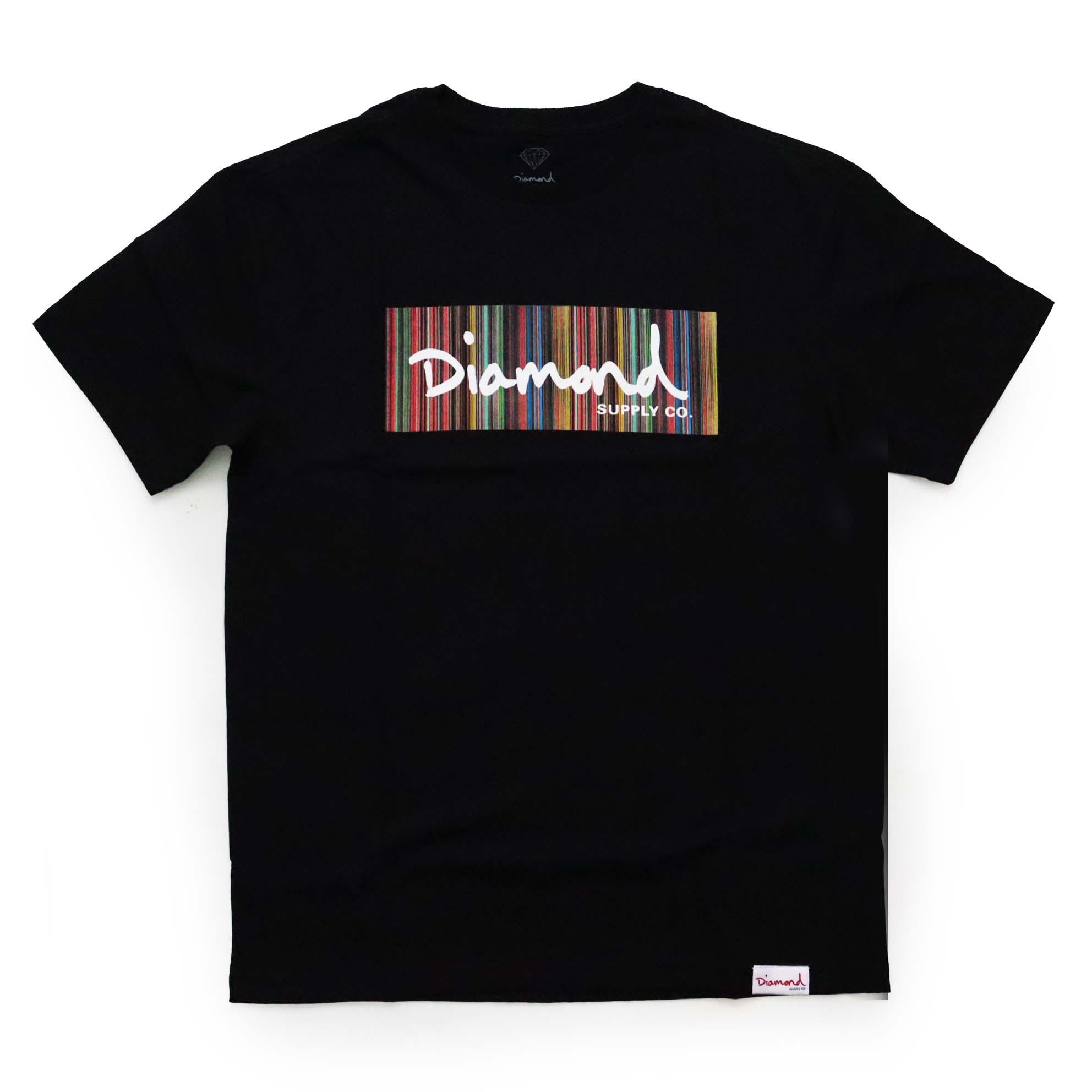 Camiseta Diamond Color Ply Box - Preto
