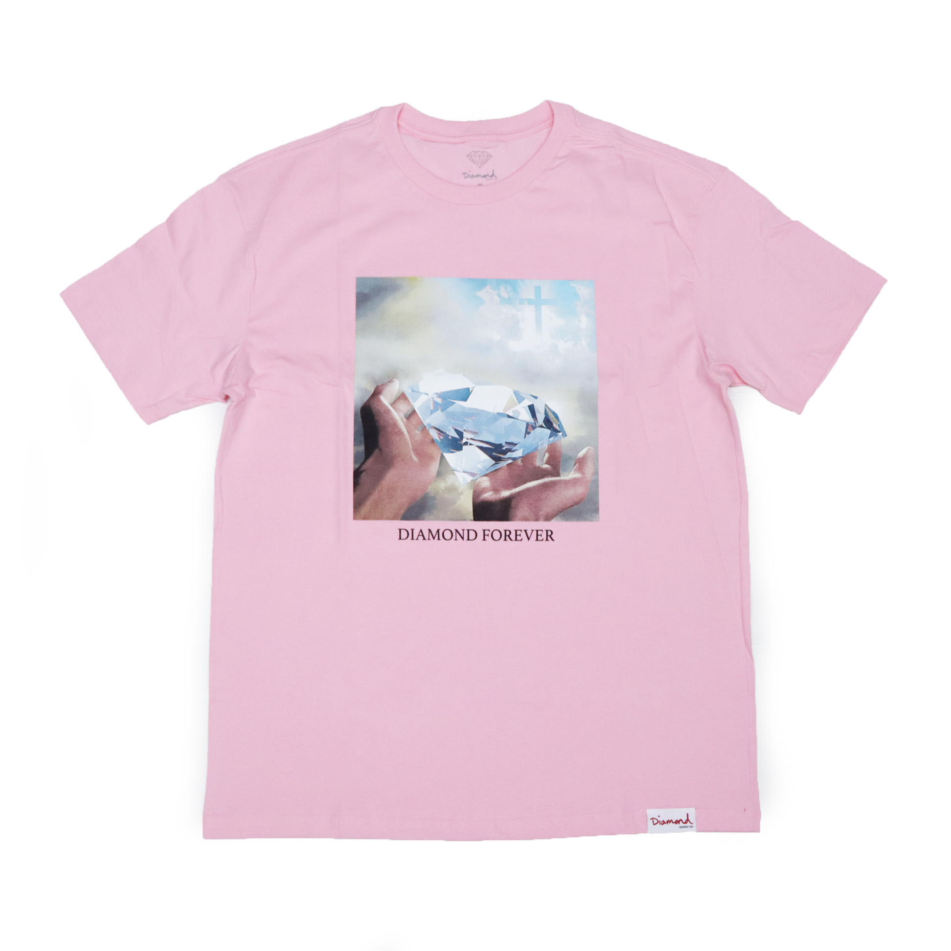 Camiseta Diamond Forever - Rosa
